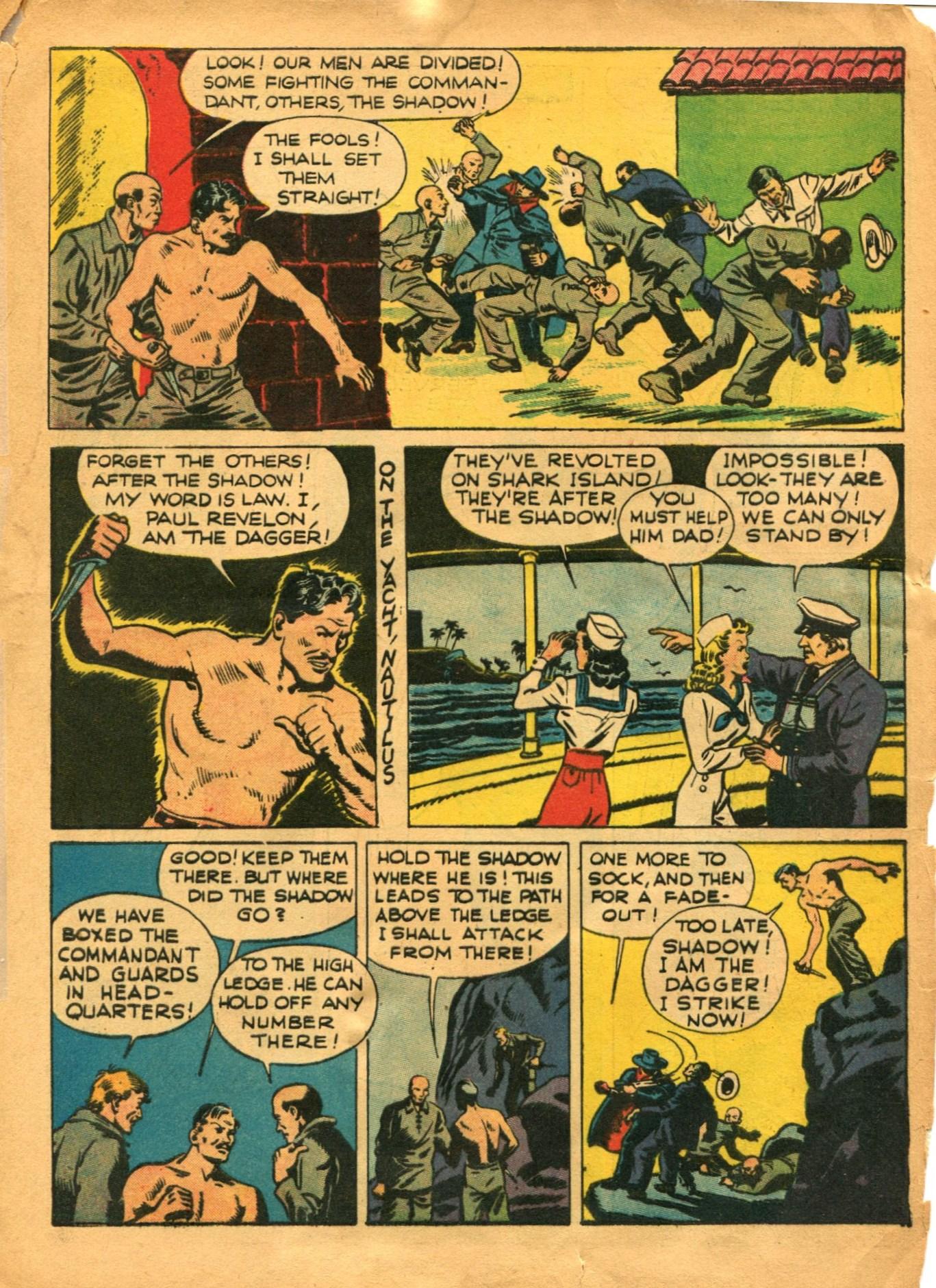 Read online Shadow Comics comic -  Issue #12 - 17