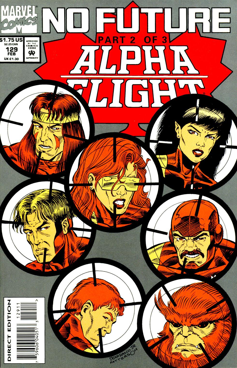 Read online Alpha Flight (1983) comic -  Issue #129 - 2