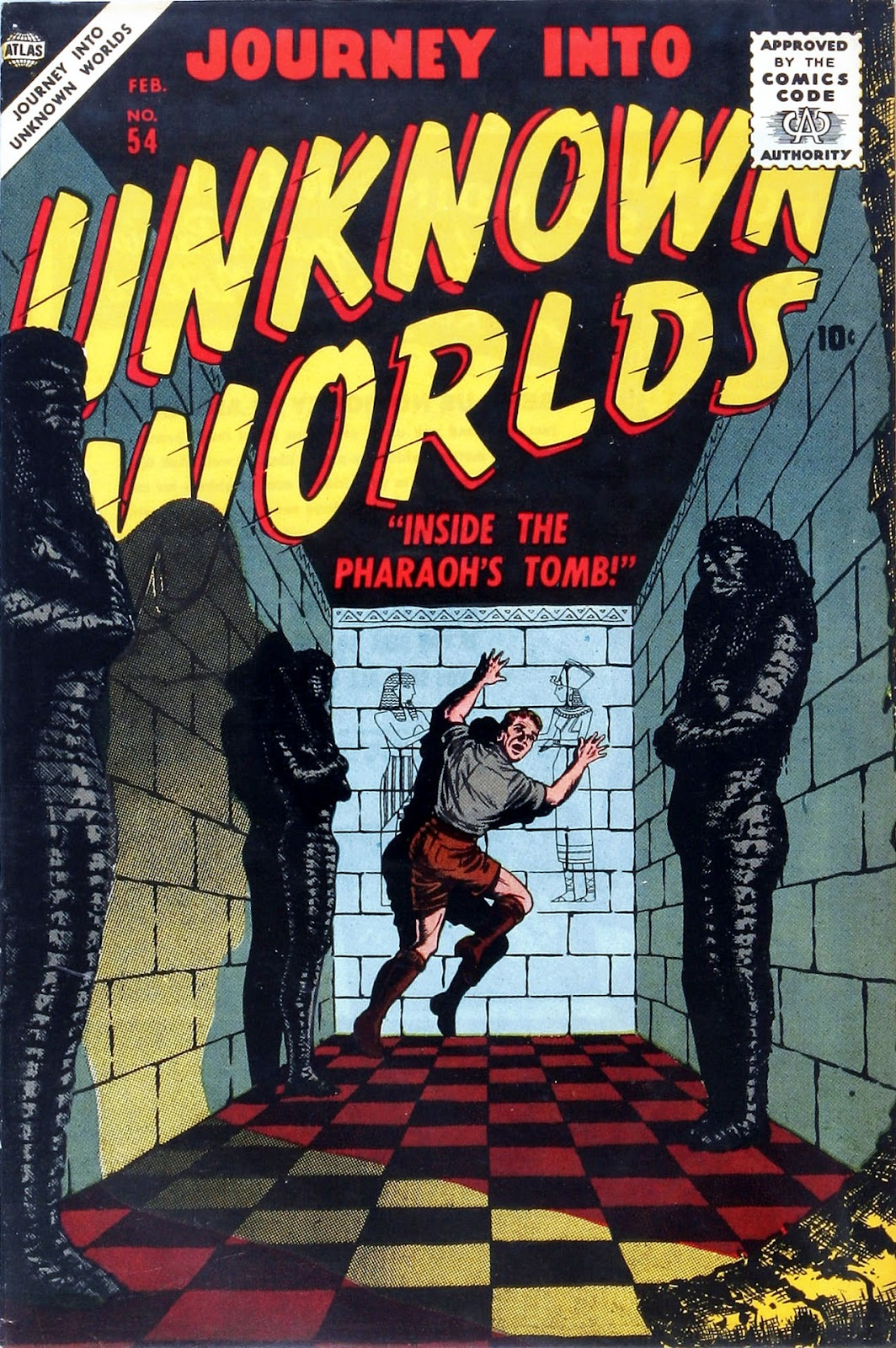 Journey Into Unknown Worlds (1950) issue 54 - Page 1