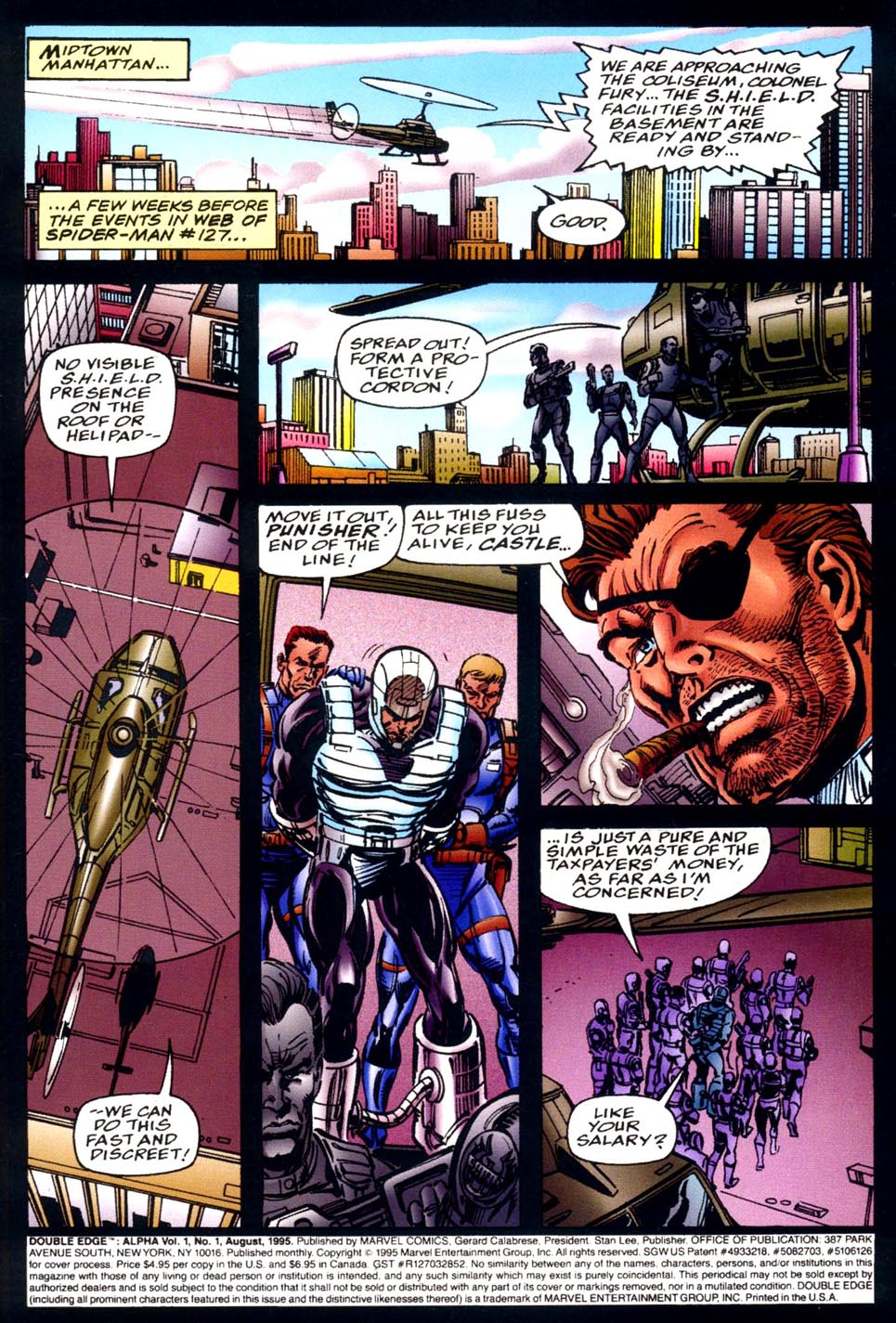 Read online Double Edge comic -  Issue # Issue Alpha - 2
