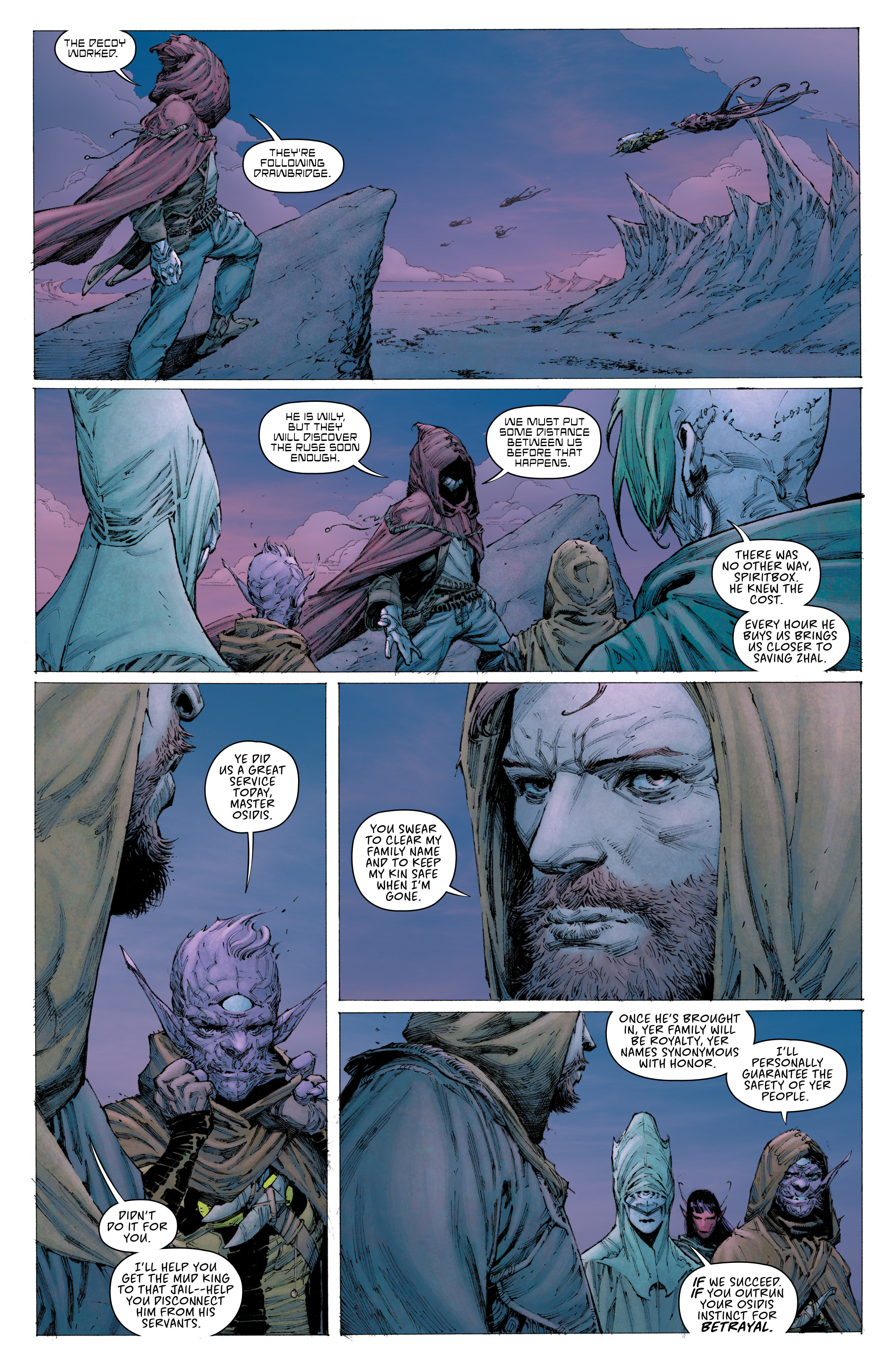 Read online Seven To Eternity comic -  Issue #3 - 21