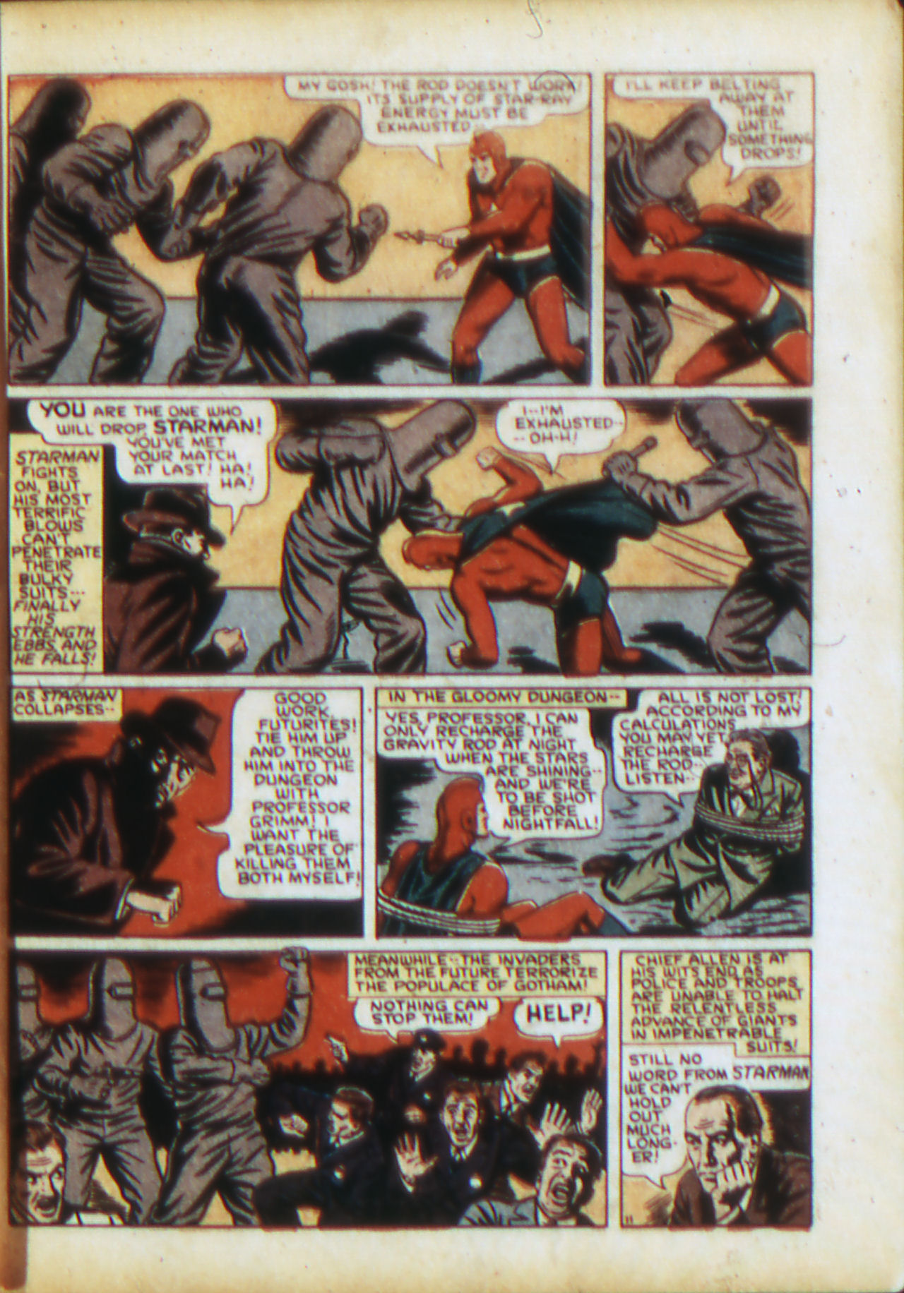 Read online Adventure Comics (1938) comic -  Issue #71 - 14
