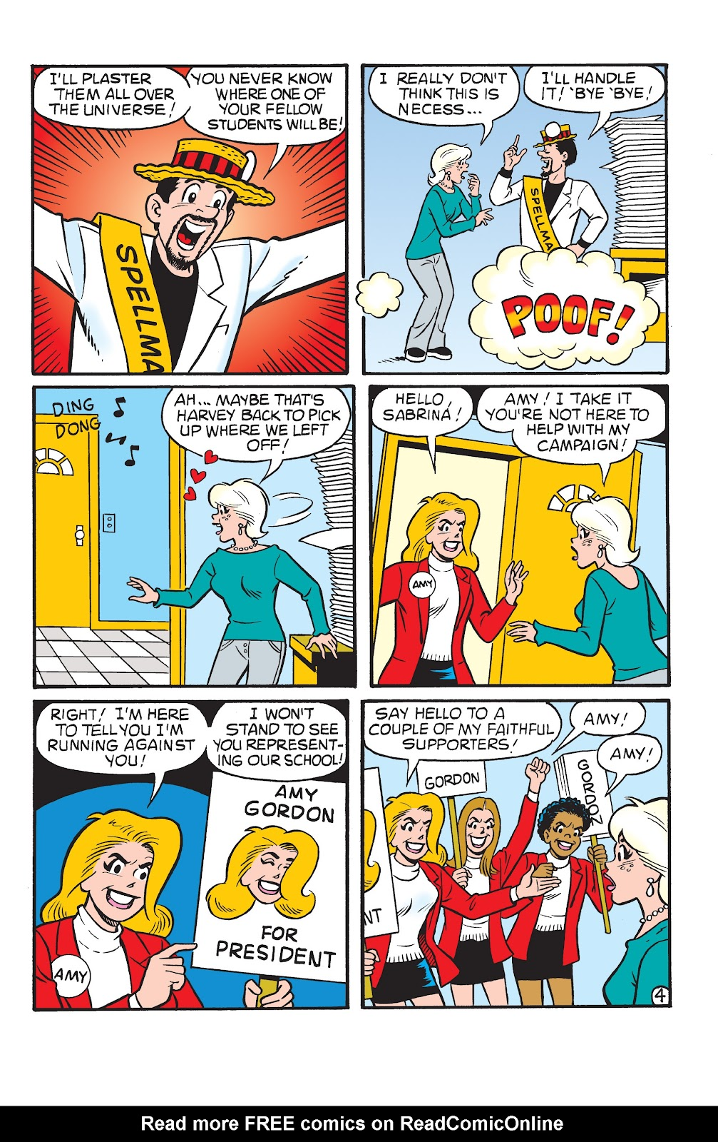 Sabrina the Teenage Witch (1997) Issue #22 #23 - English 5