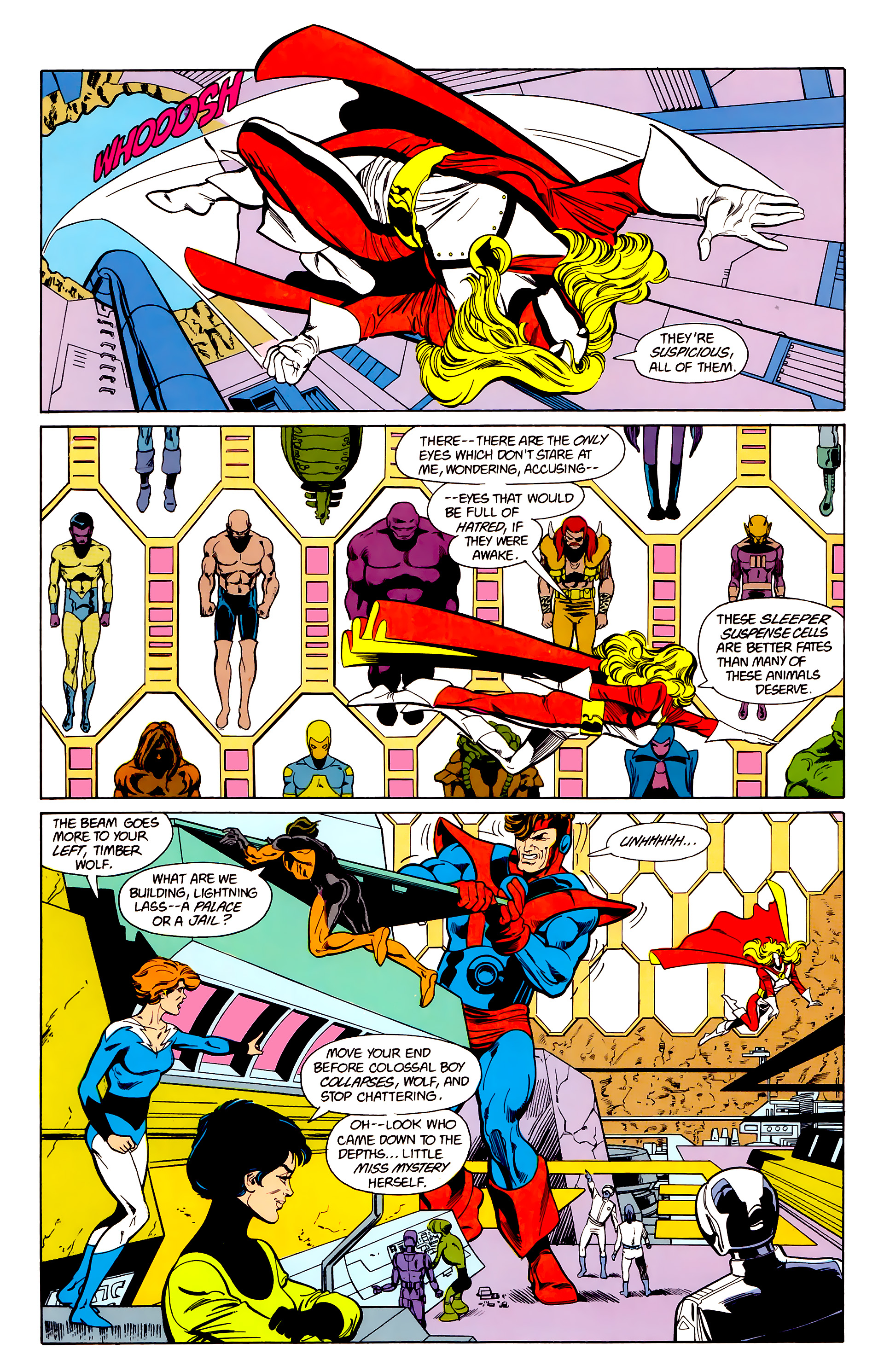 Legion of Super-Heroes (1984) 22 Page 6