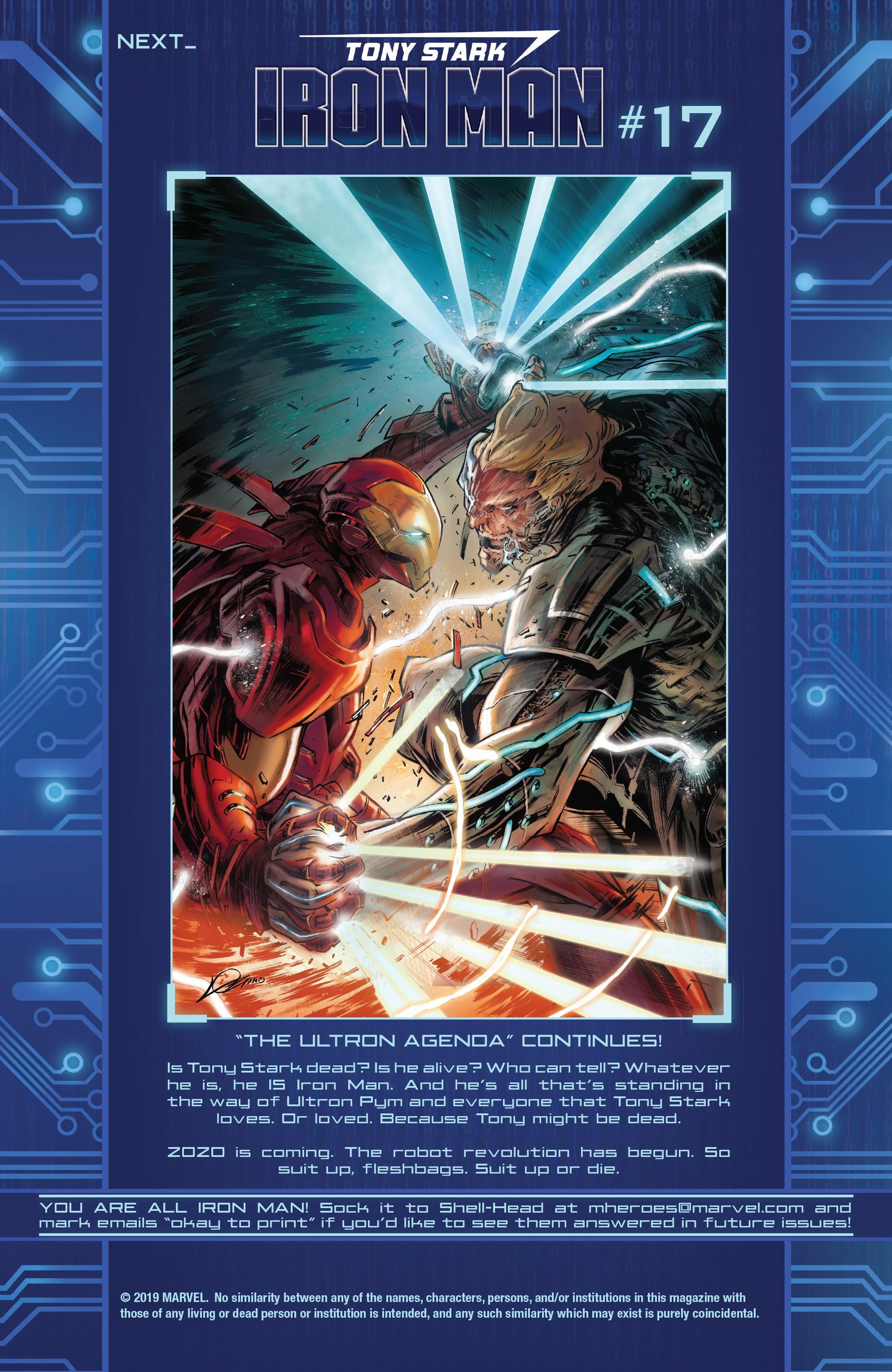 Read online Tony Stark: Iron Man comic -  Issue #16 - 23