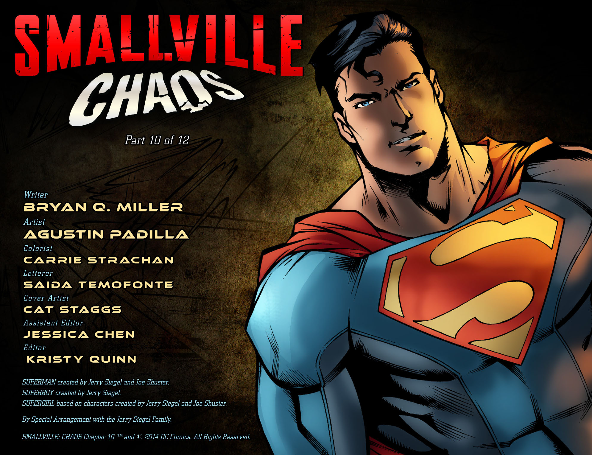 Read online Smallville: Chaos [II] comic -  Issue #10 - 2