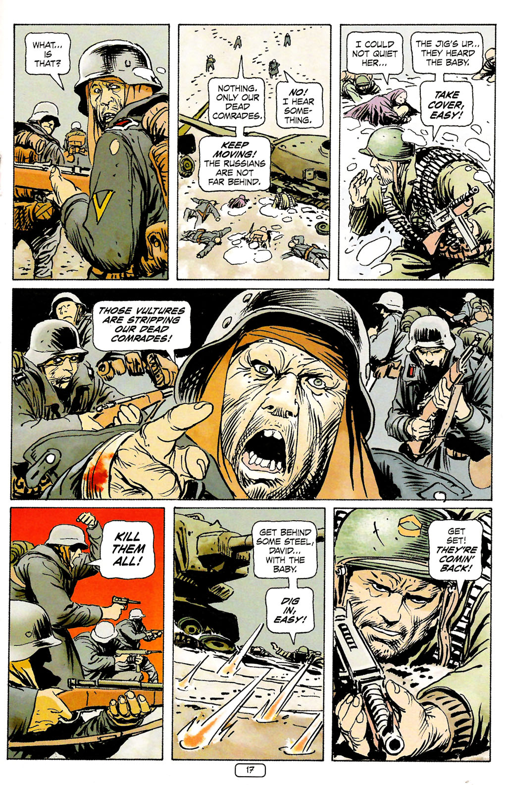Read online Sgt. Rock: The Prophecy comic -  Issue #4 - 17