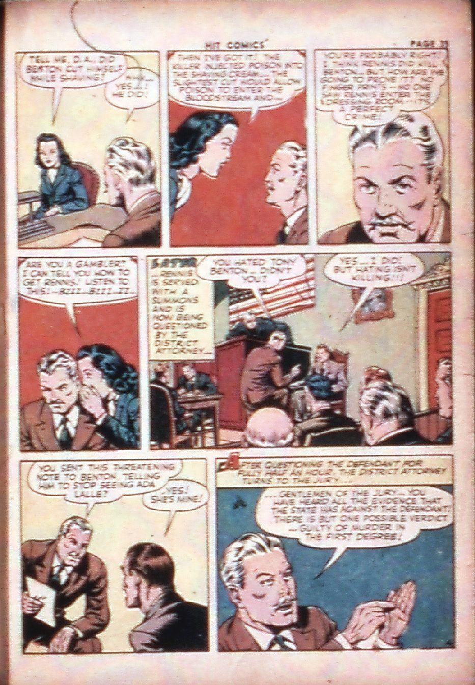Read online Hit Comics comic -  Issue #29 - 37