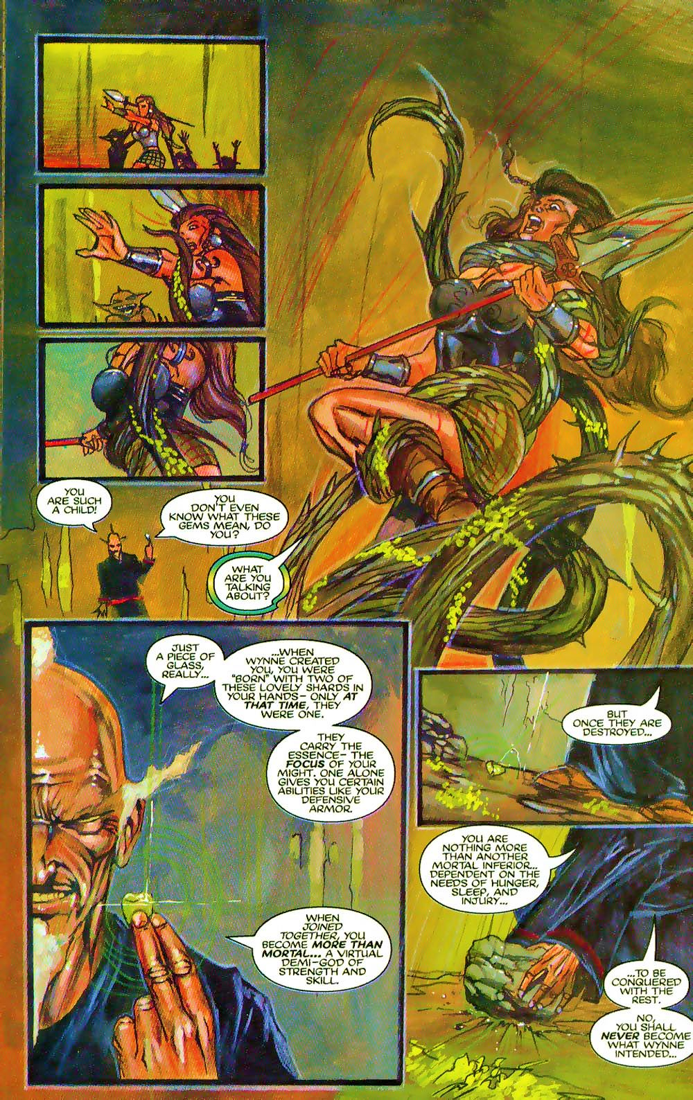 More Than Mortal: Sagas issue 3 - Page 18