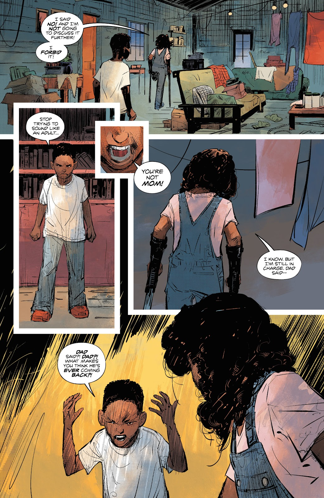 Read online Resonant comic -  Issue #3 - 11
