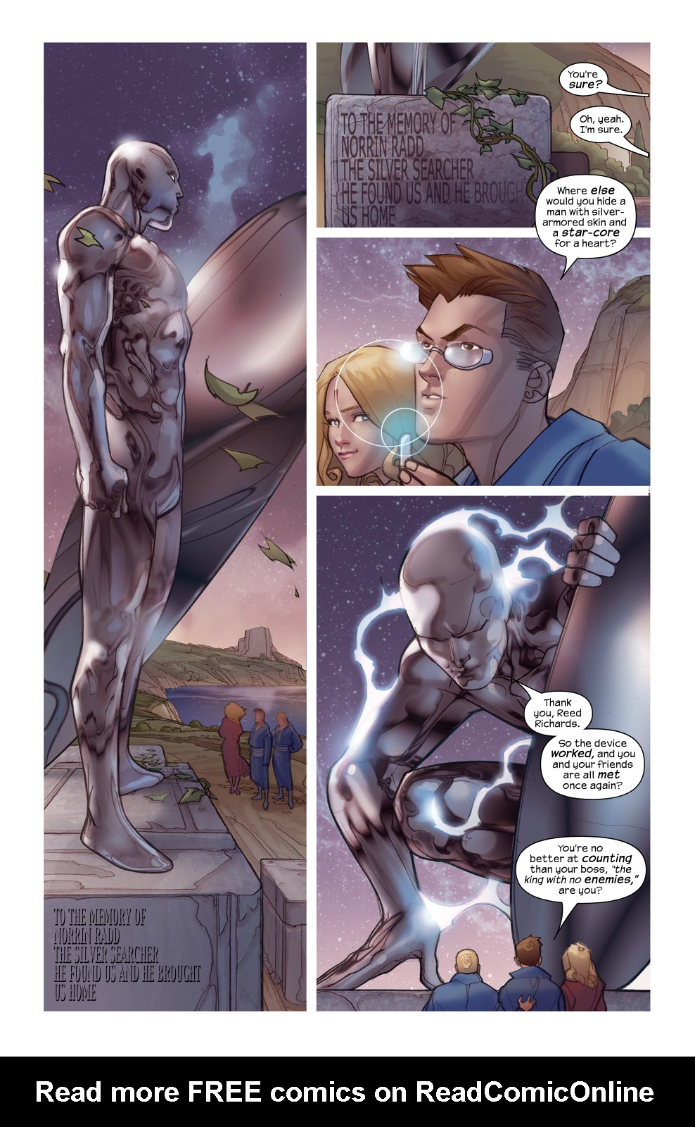 Read online Ultimate Fantastic Four (2004) comic -  Issue #46 - 3