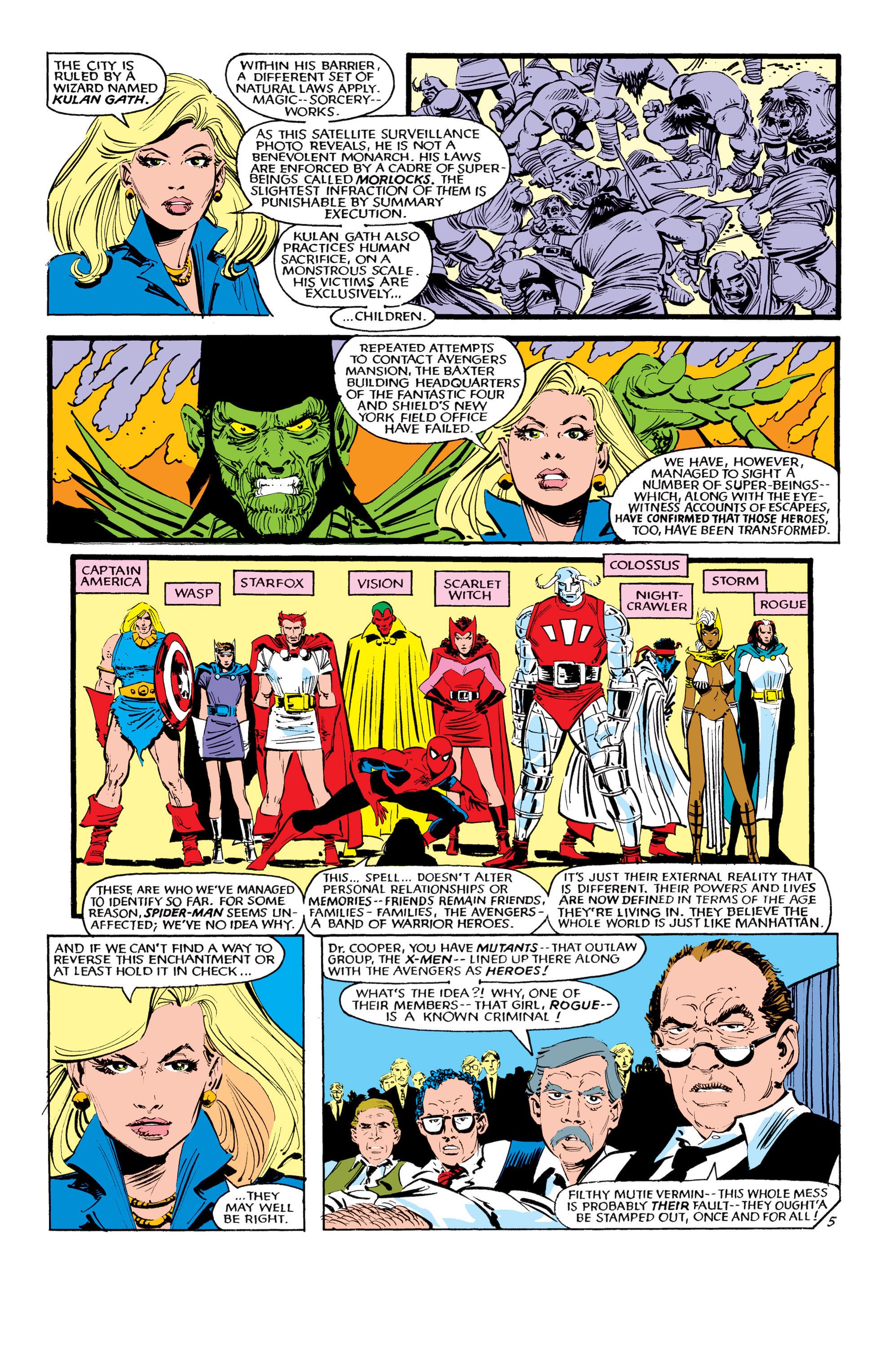 Read online Uncanny X-Men (1963) comic -  Issue #190 - 5