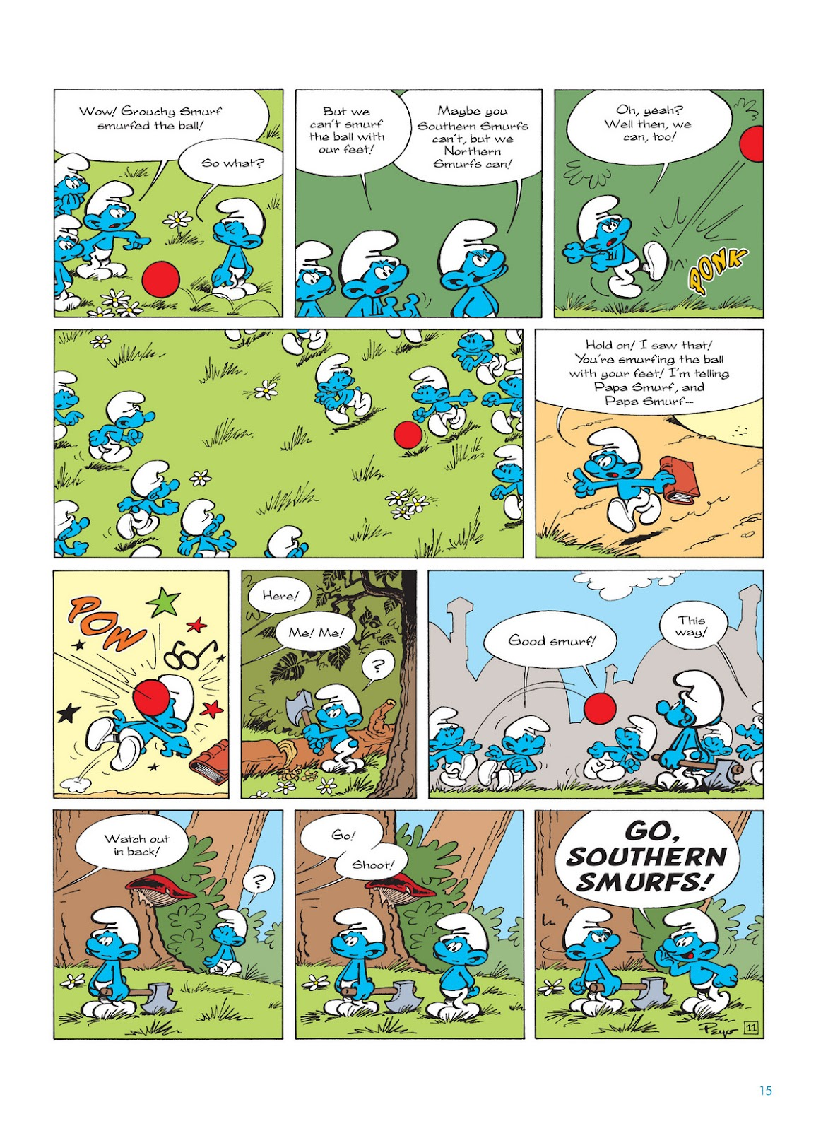 Read online The Smurfs comic -  Issue #12 - 15