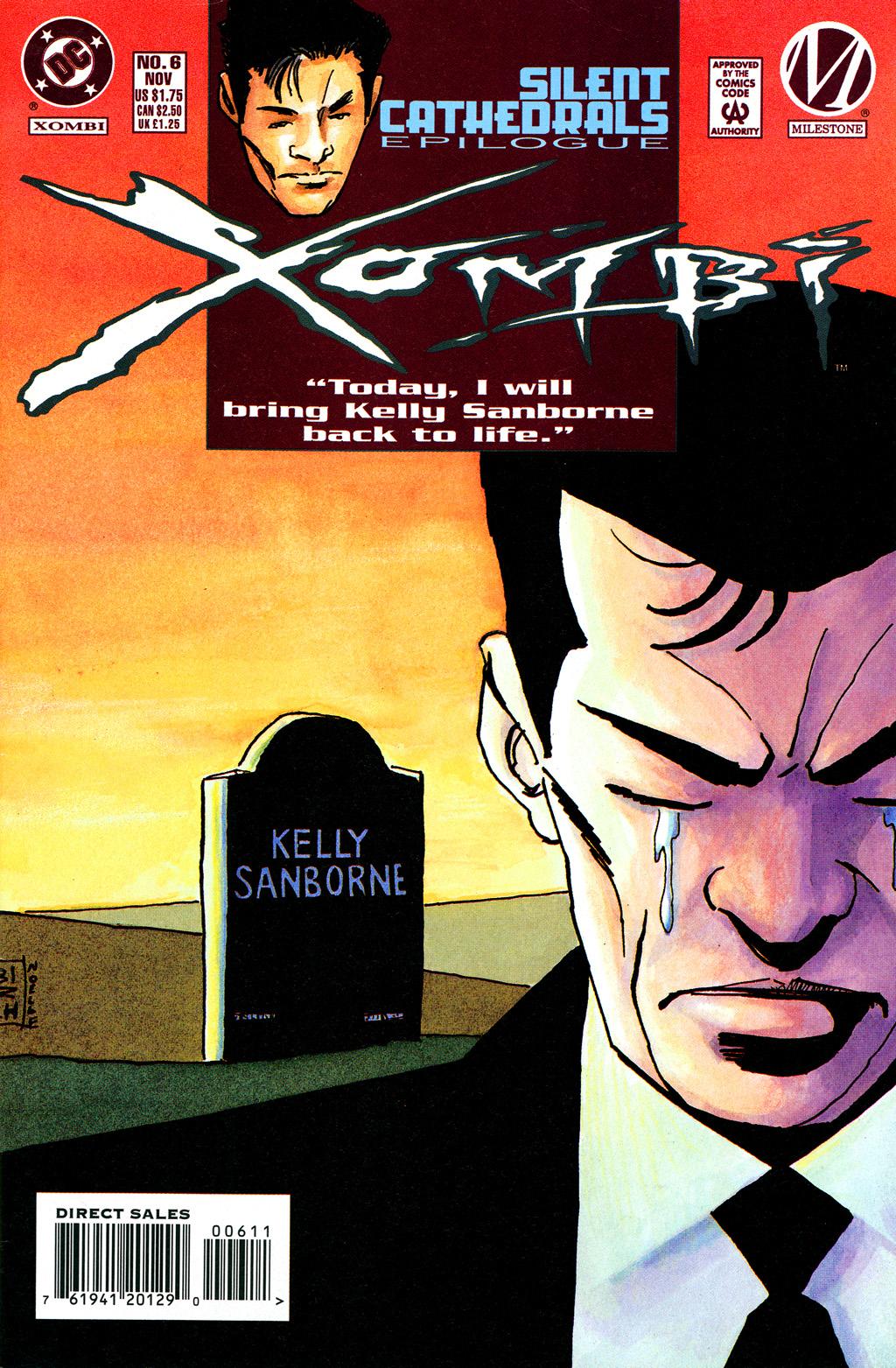 Xombi (1994) 6 Page 1