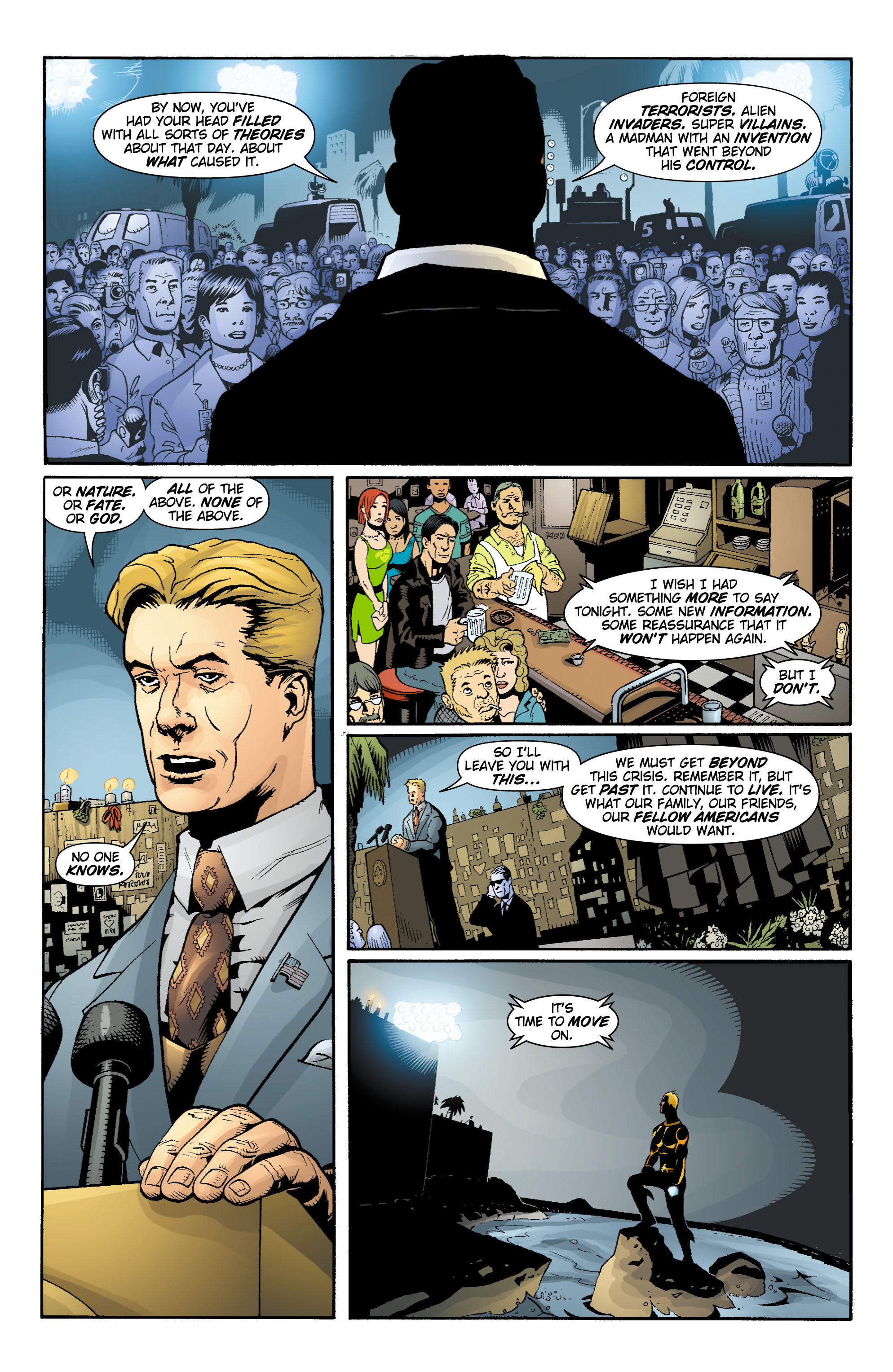 Read online Aquaman (2003) comic -  Issue #15 - 12
