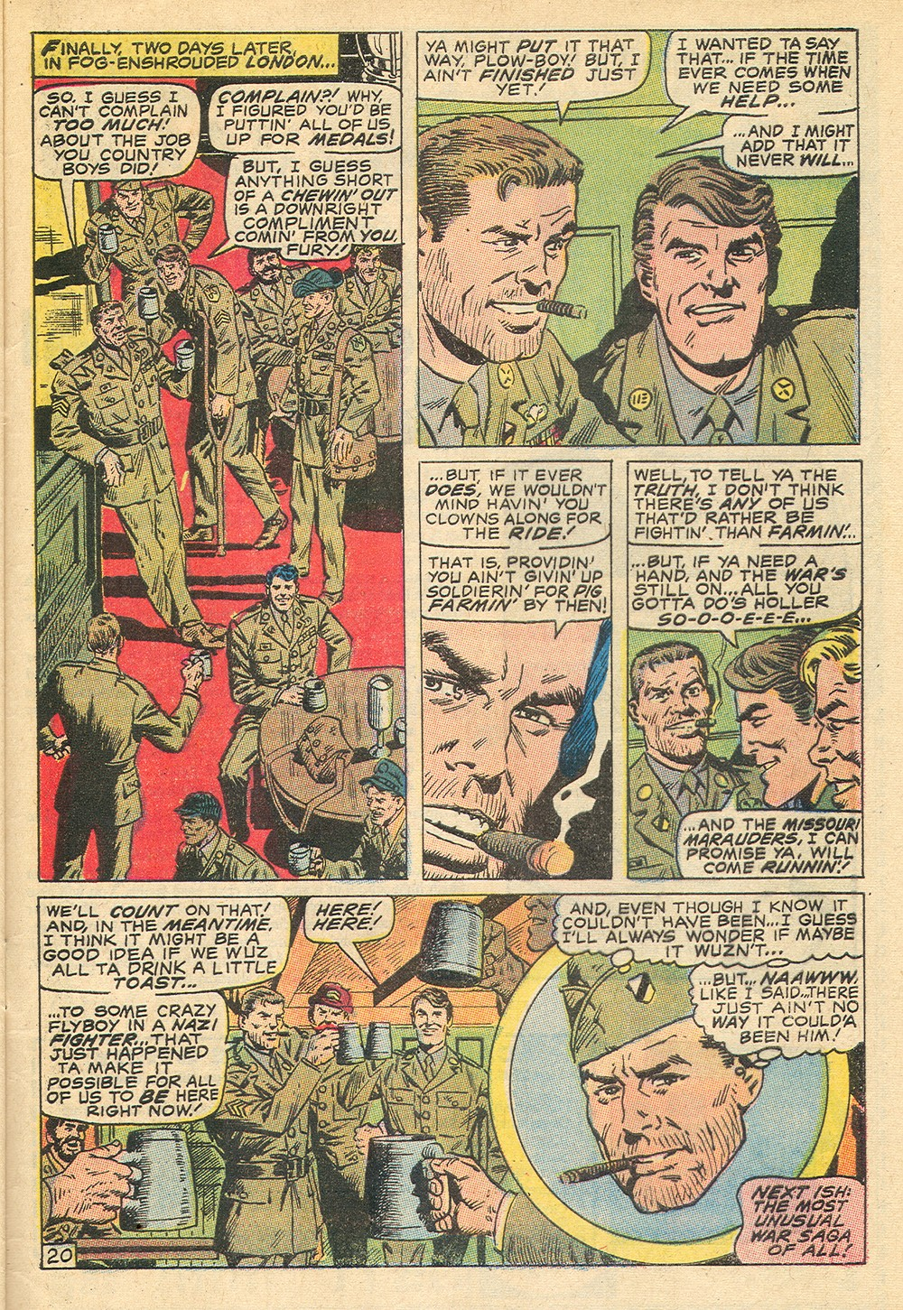 Read online Sgt. Fury comic -  Issue #71 - 33