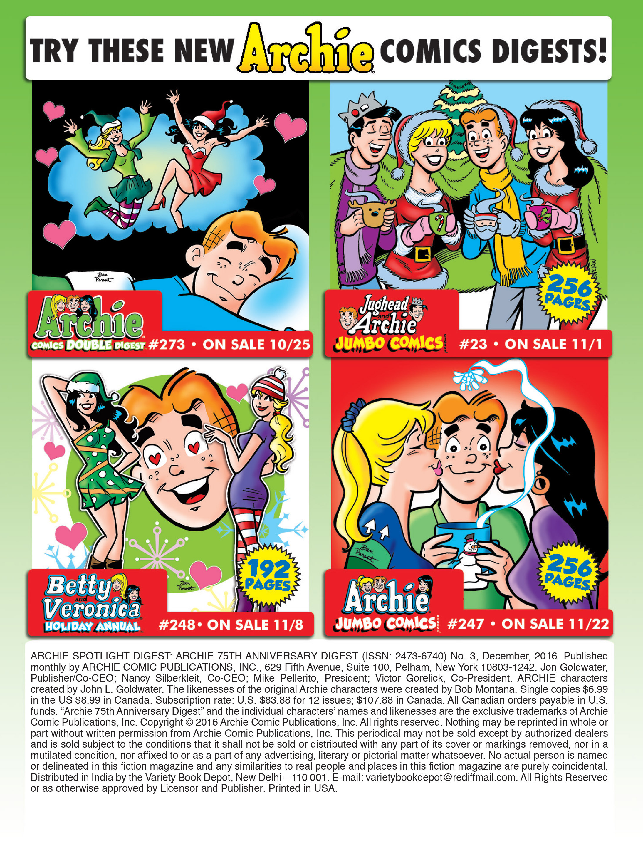 Read online Archie 75th Anniversary Digest comic -  Issue #3 - 218