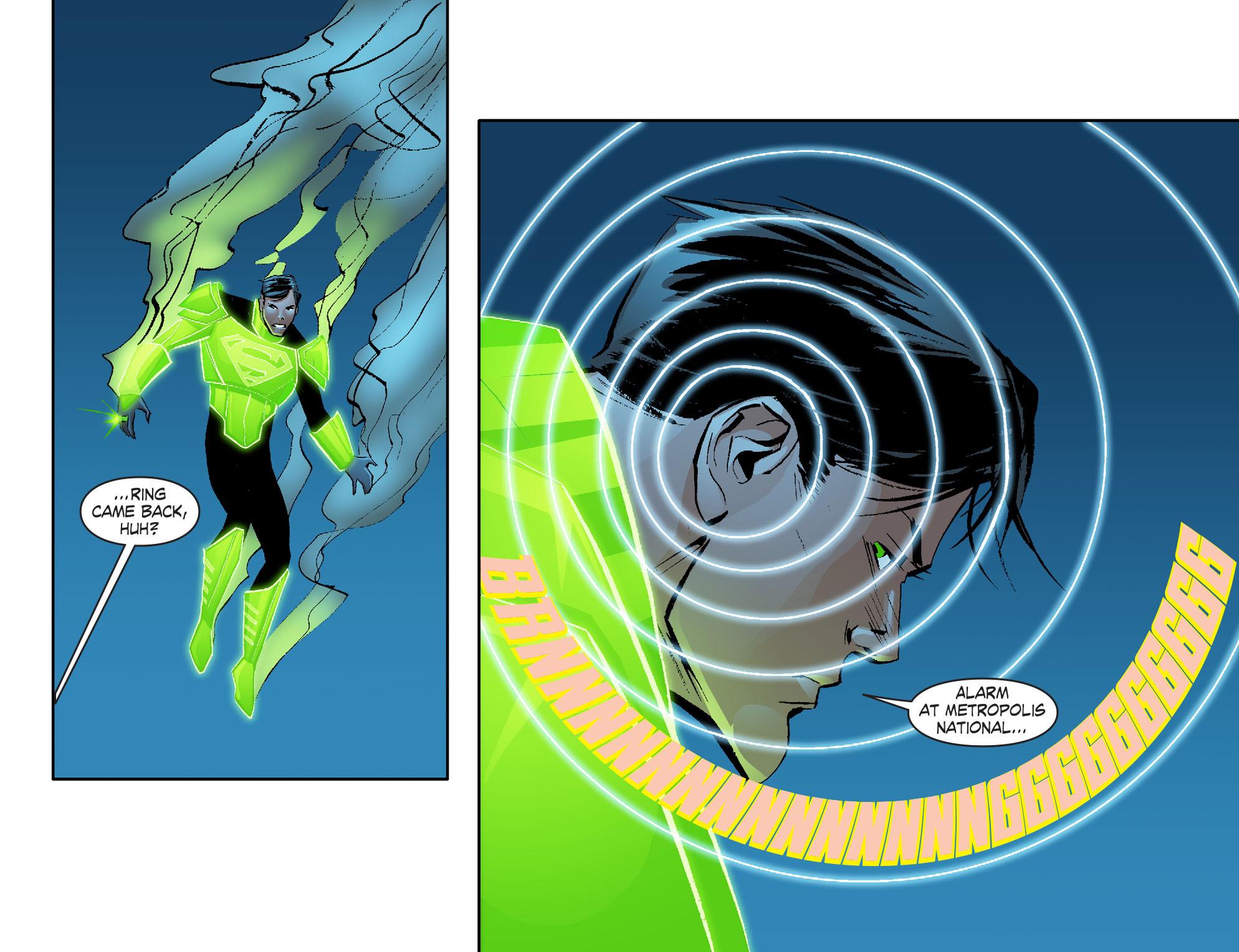 Read online Smallville: Lantern [I] comic -  Issue #2 - 16