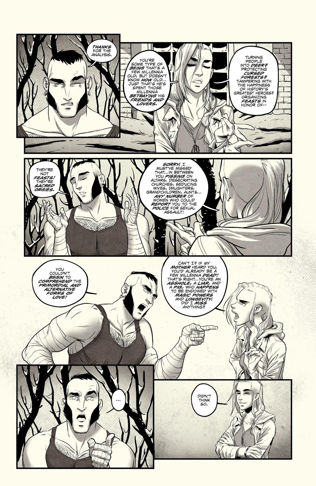 Read online Nomen Omen comic -  Issue #3 - 23