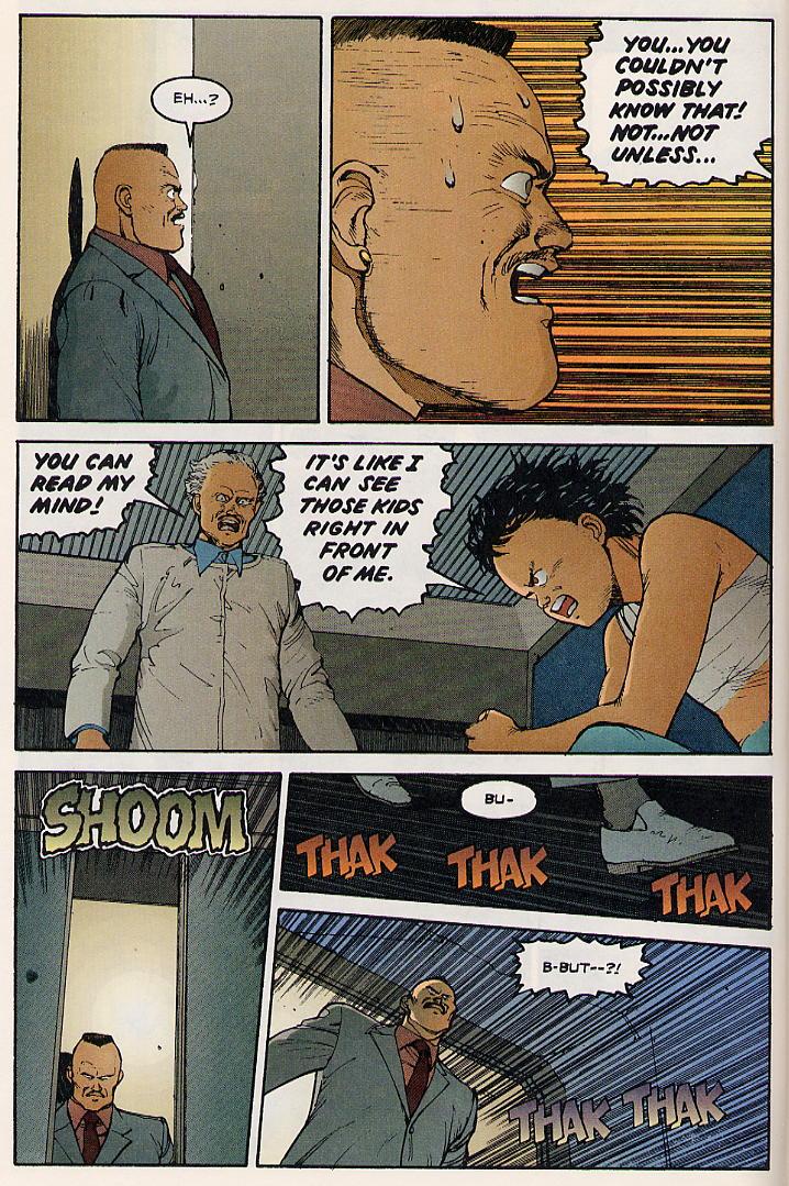 Read online Akira comic -  Issue #8 - 8