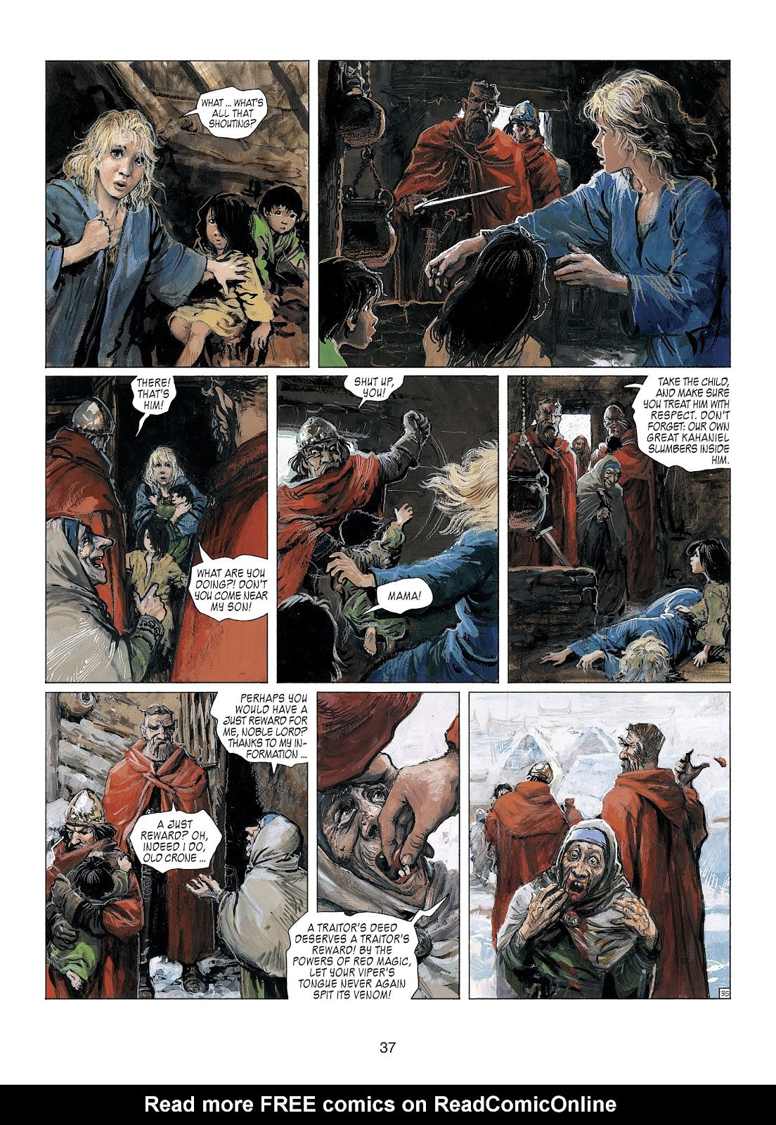 Read online Thorgal comic -  Issue #23 - 39