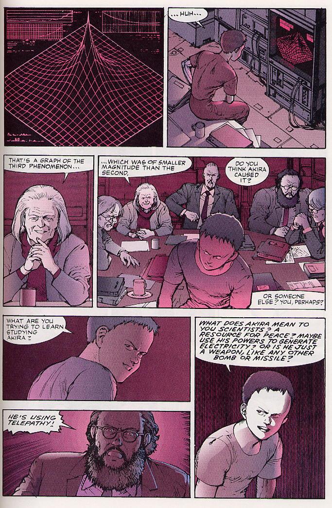 Read online Akira comic -  Issue #26 - 60