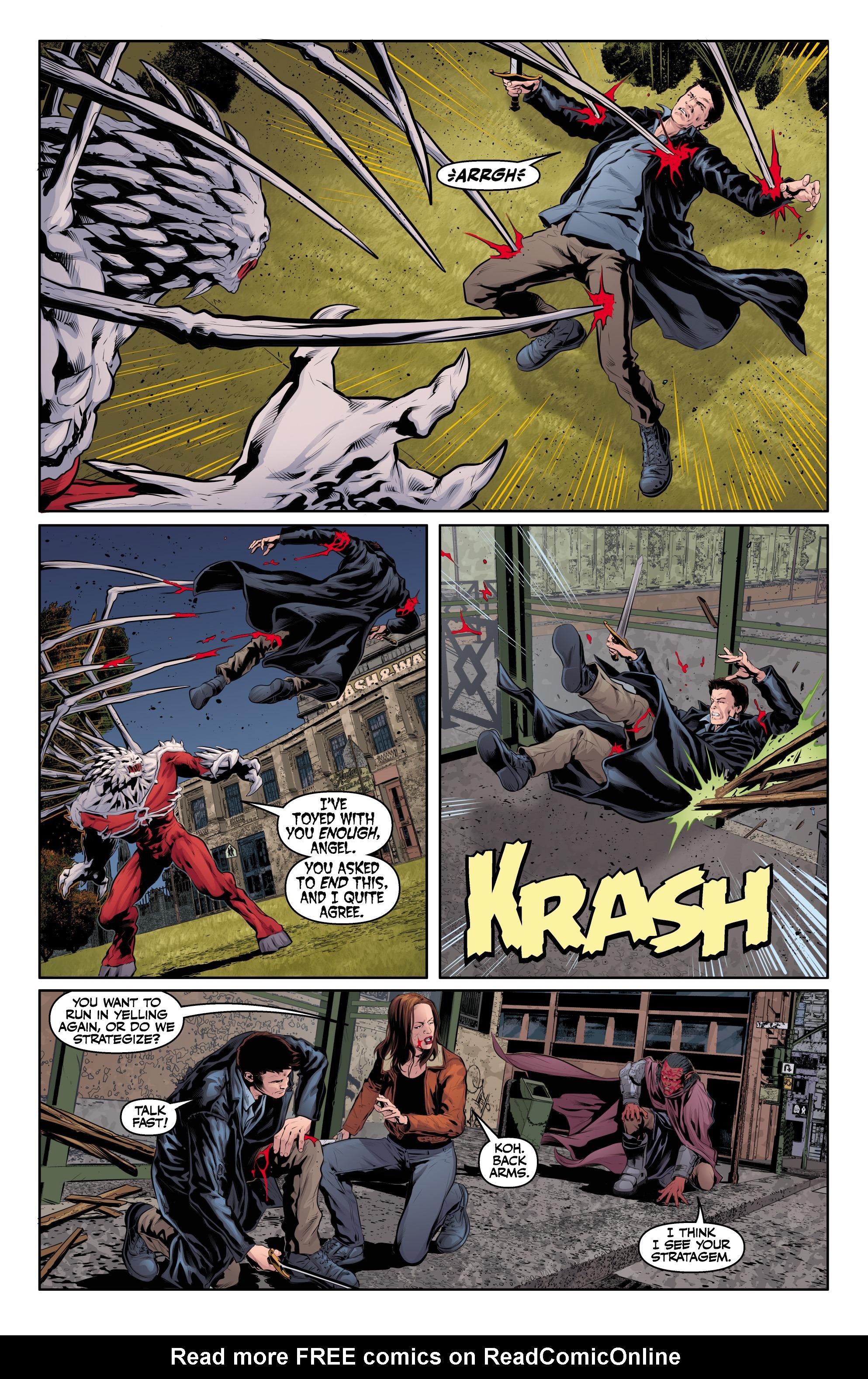 Read online Angel & Faith Season 10 comic -  Issue #24 - 18