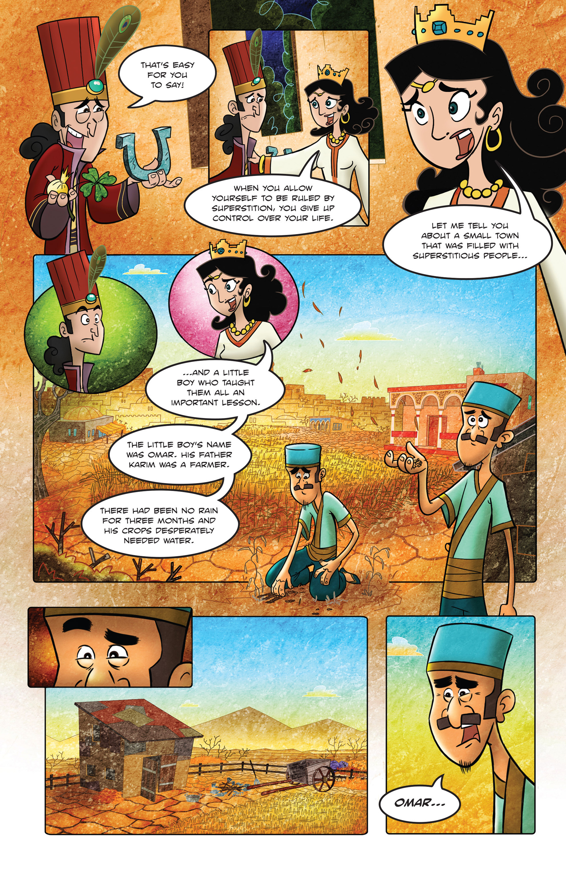 Read online 1001 Nights comic -  Issue #2 - 5