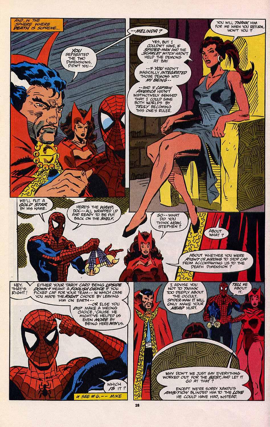Read online Secret Defenders comic -  Issue #8 - 21