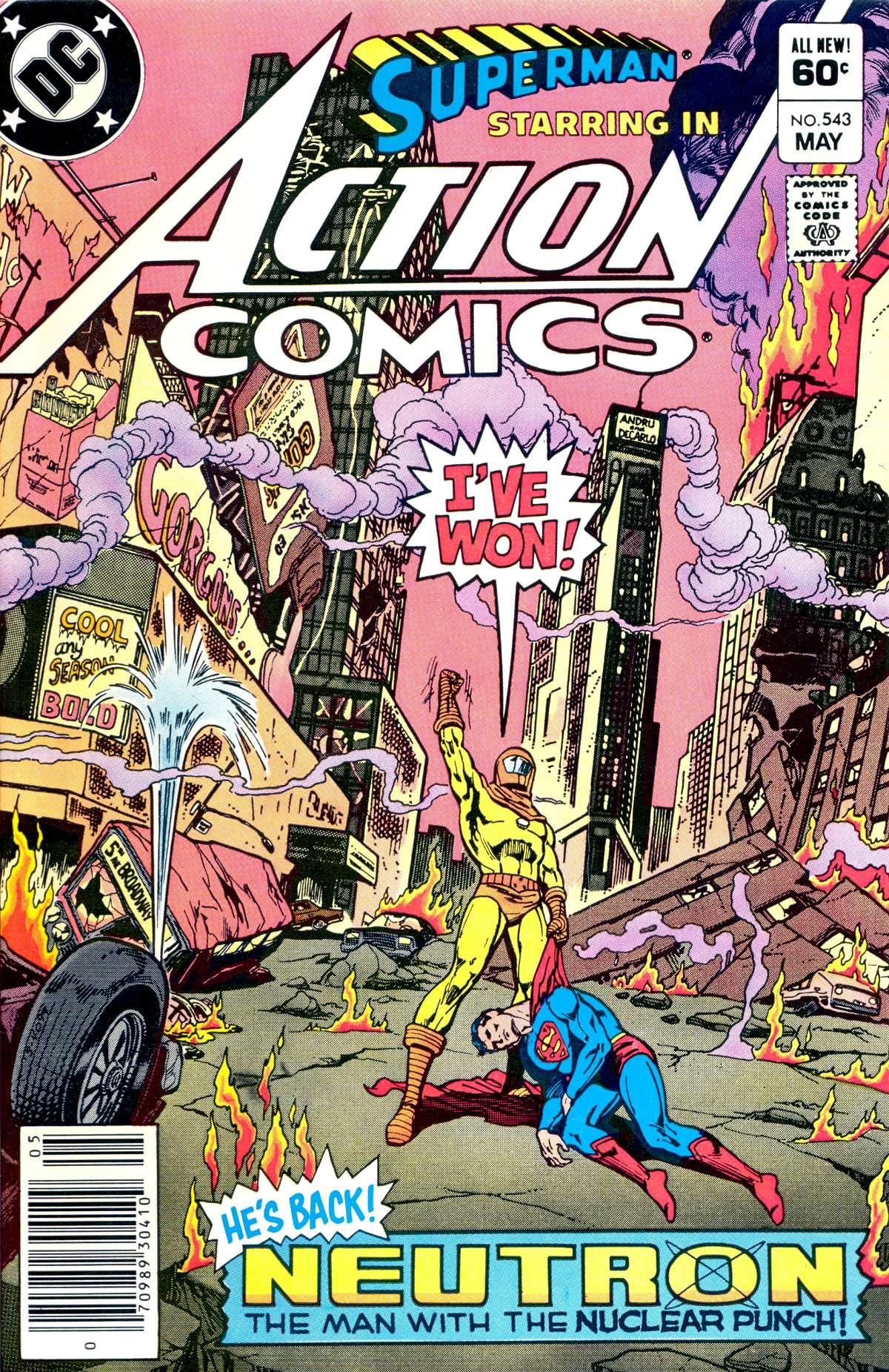 Action Comics (1938) 543 Page 1