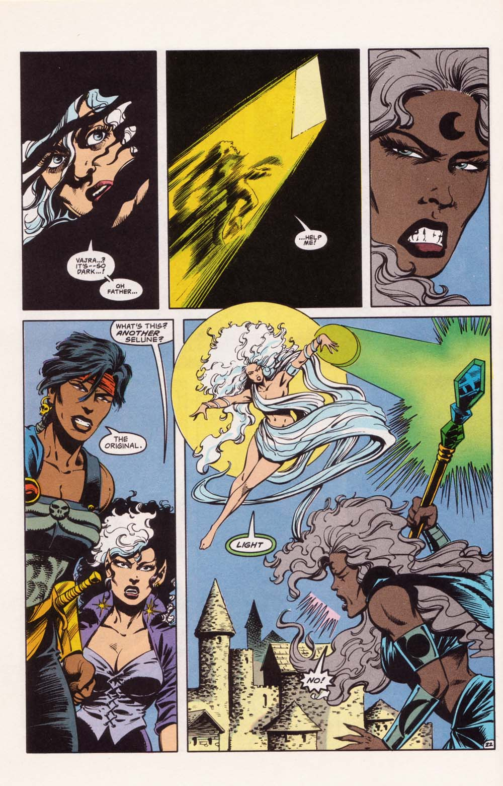 Read online Advanced Dungeons & Dragons comic -  Issue #22 - 22