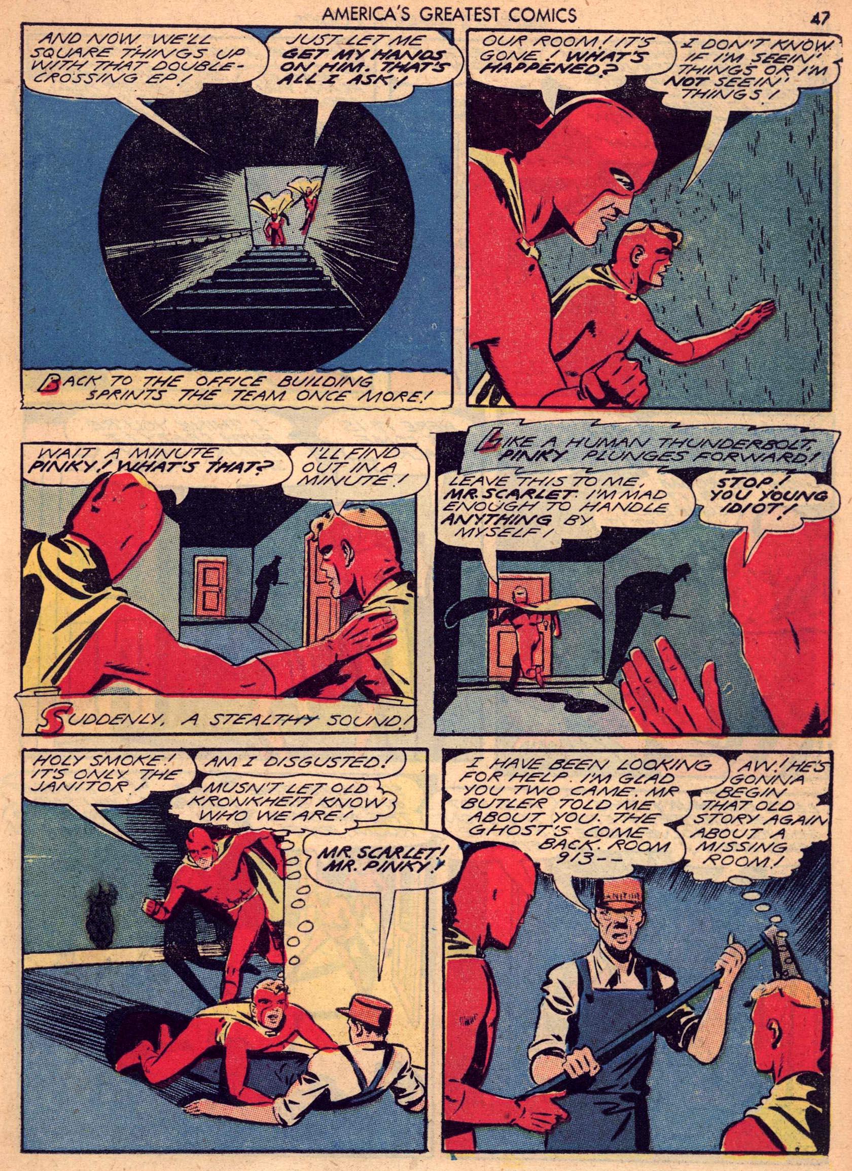 Read online America's Greatest Comics comic -  Issue #7 - 46