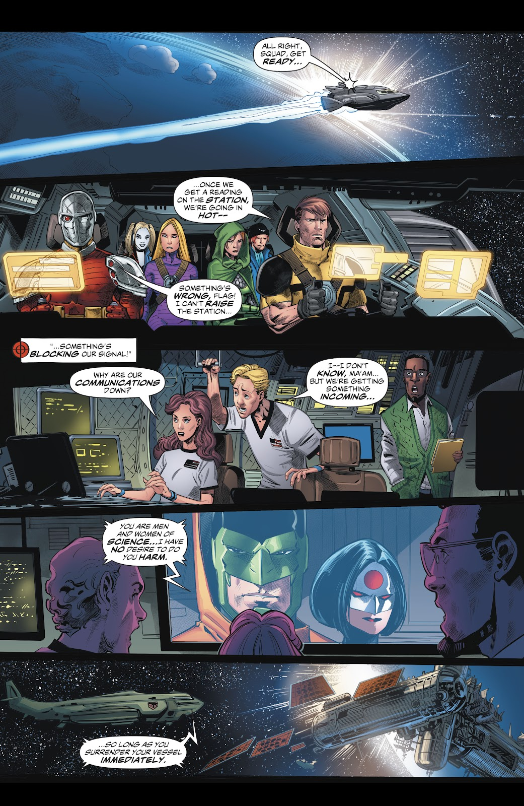 Read online Suicide Squad Black Files comic -  Issue #5 - 20
