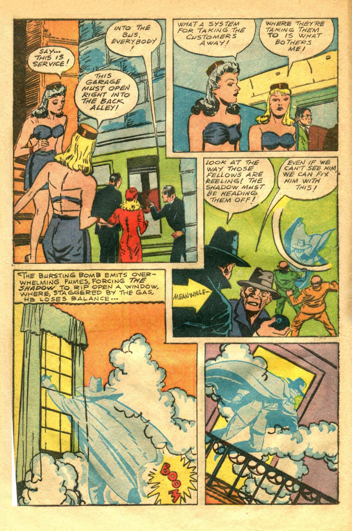 Read online Shadow Comics comic -  Issue #48 - 8