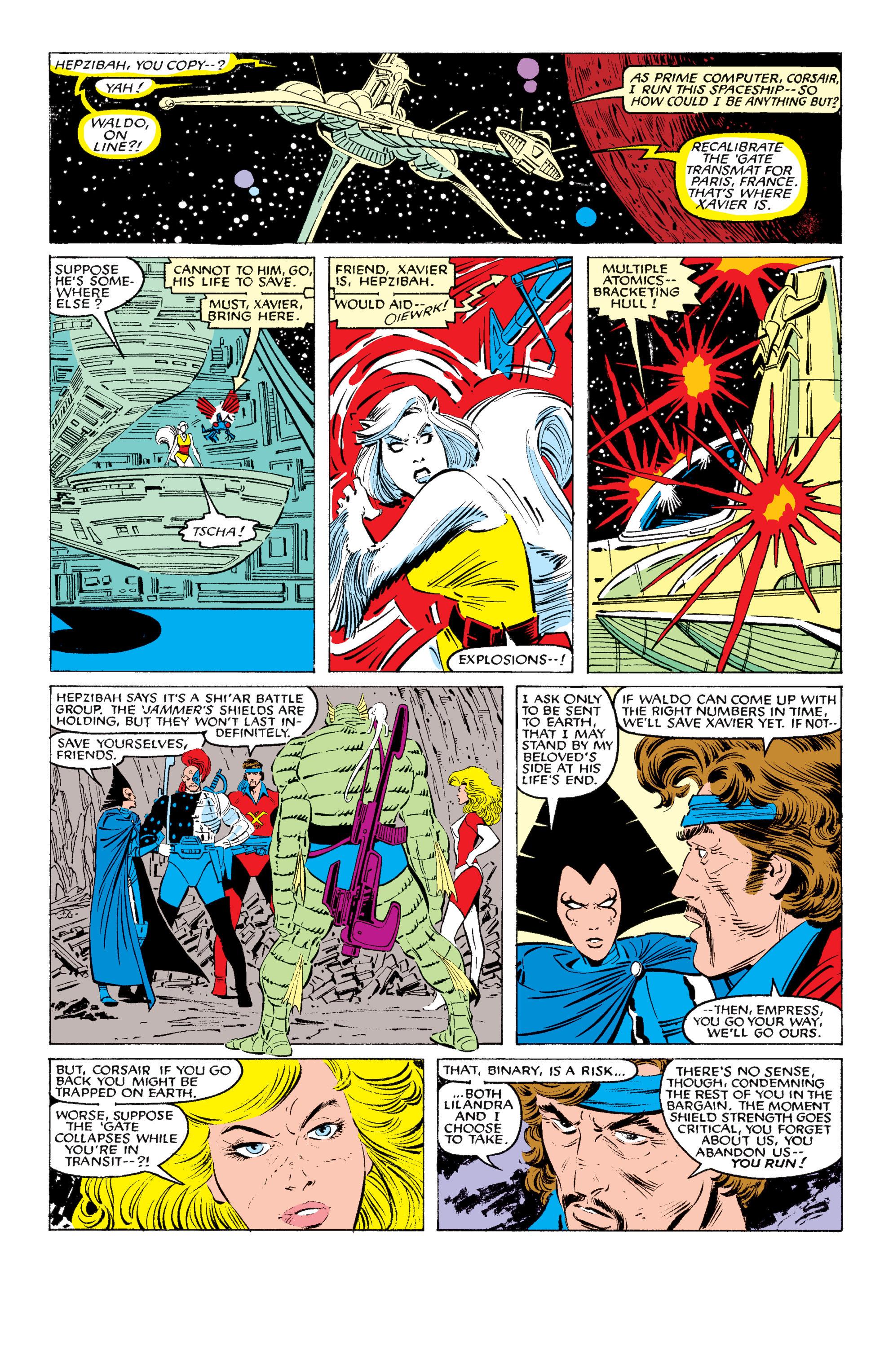 Read online Uncanny X-Men (1963) comic -  Issue #200 - 23