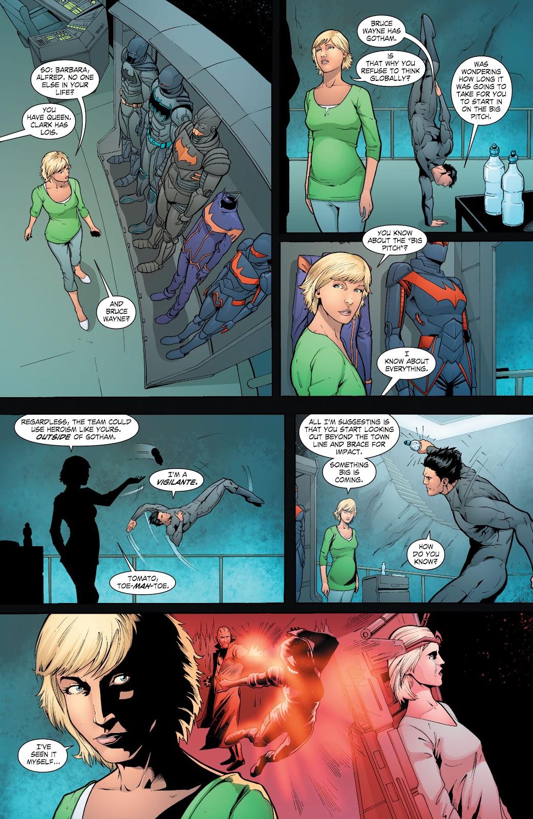 Read online Smallville Season 11 [II] comic -  Issue # TPB 6 - 120