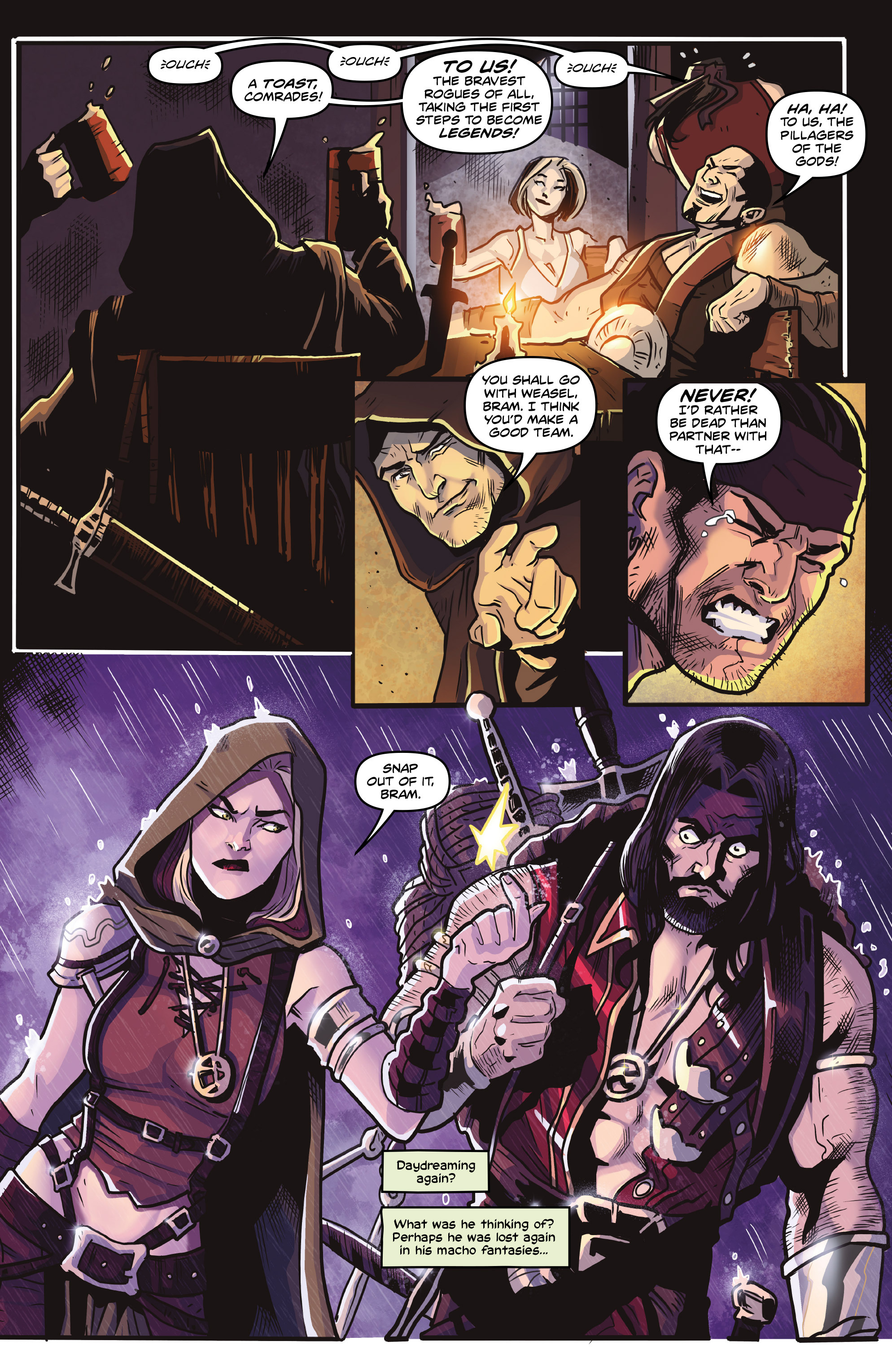 Read online Rogues!: The Burning Heart comic -  Issue #4 - 14