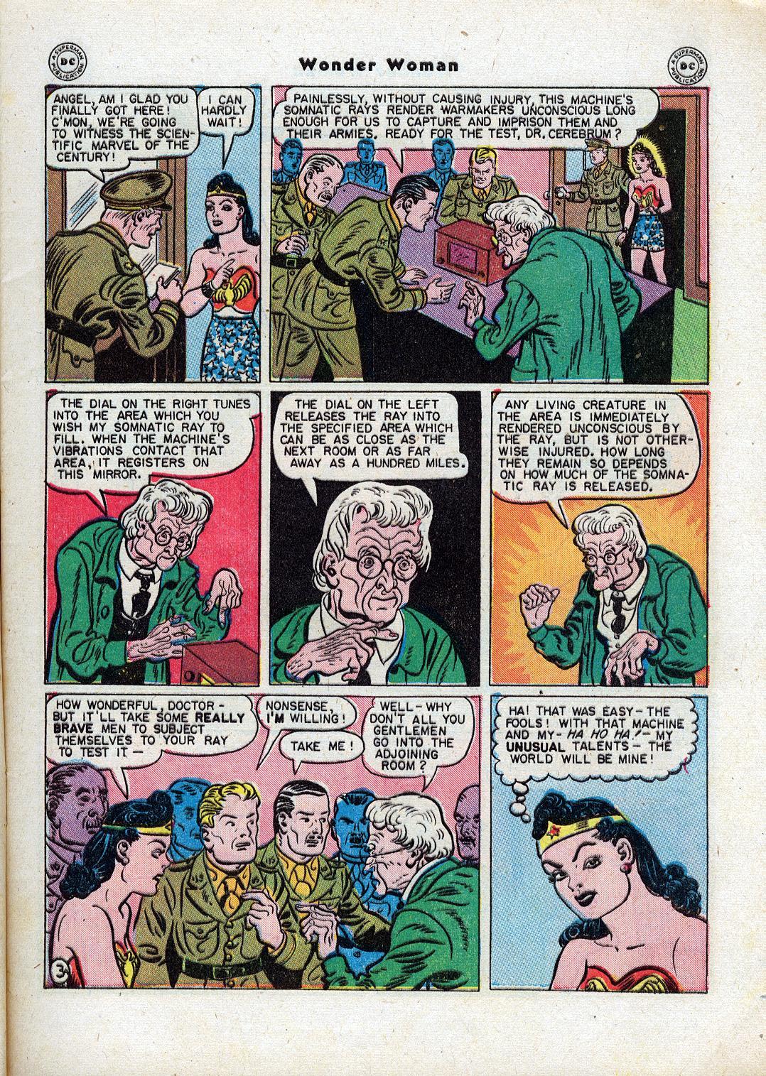 Read online Wonder Woman (1942) comic -  Issue #18 - 5