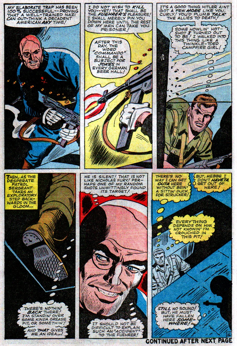 Read online Sgt. Fury comic -  Issue #14 - 22