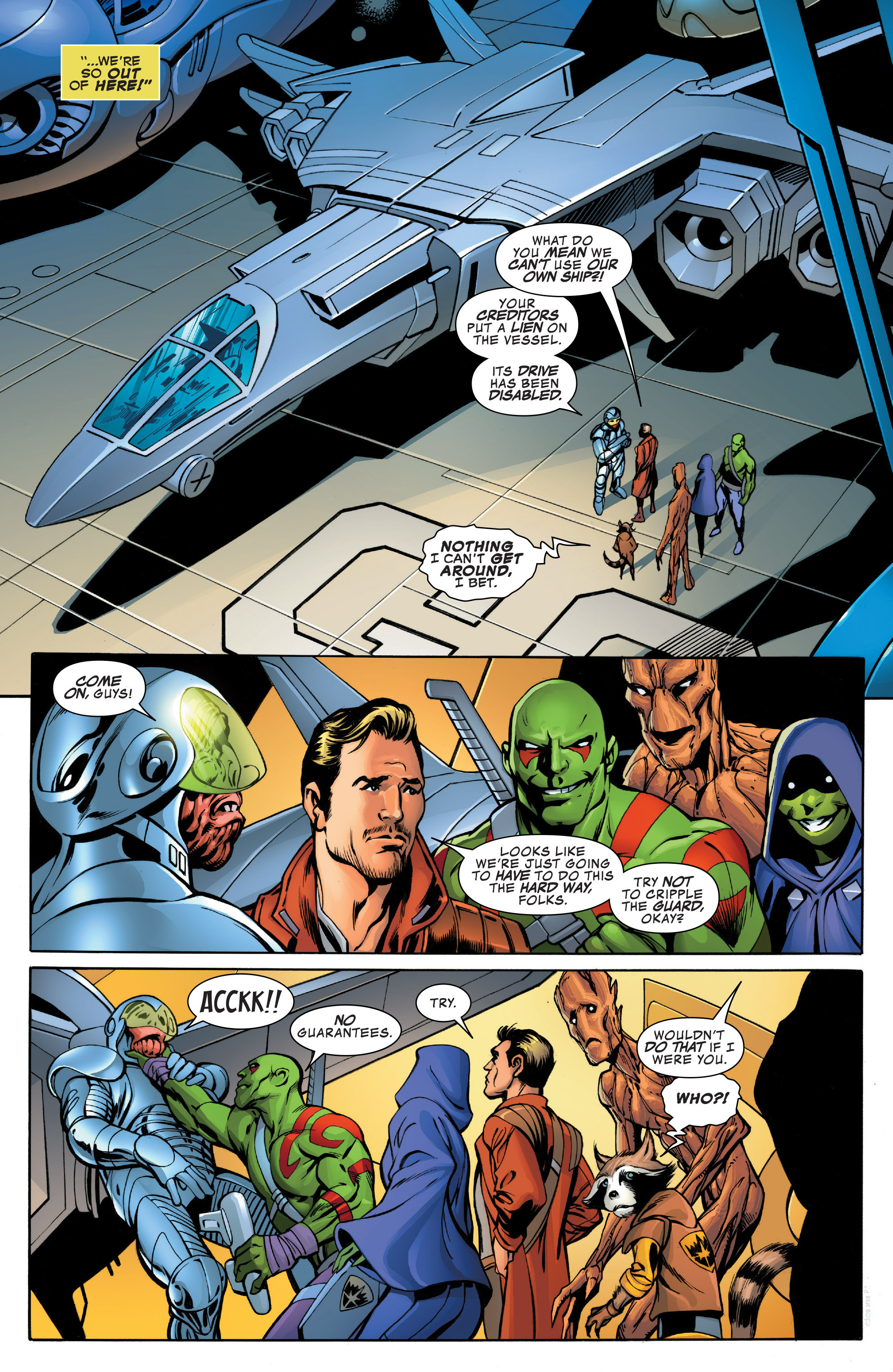 Read online Guardians of the Galaxy: Mother Entropy comic -  Issue #1 - 10