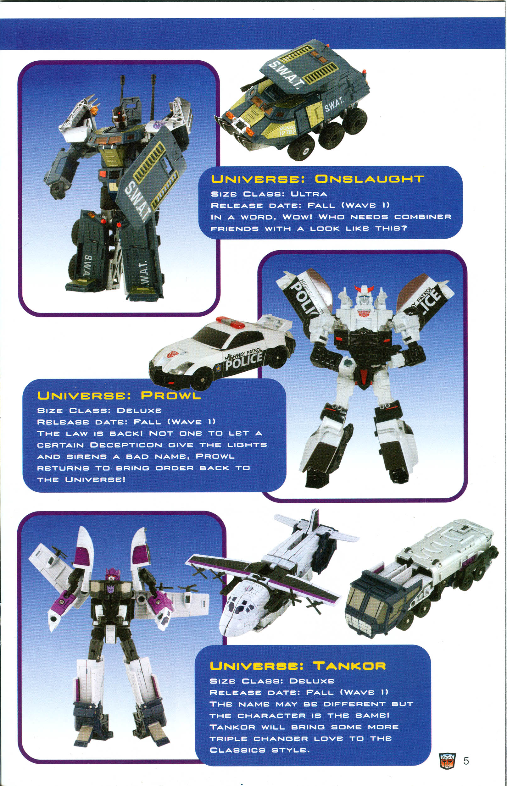 Read online Transformers: Collectors' Club comic -  Issue #19 - 5
