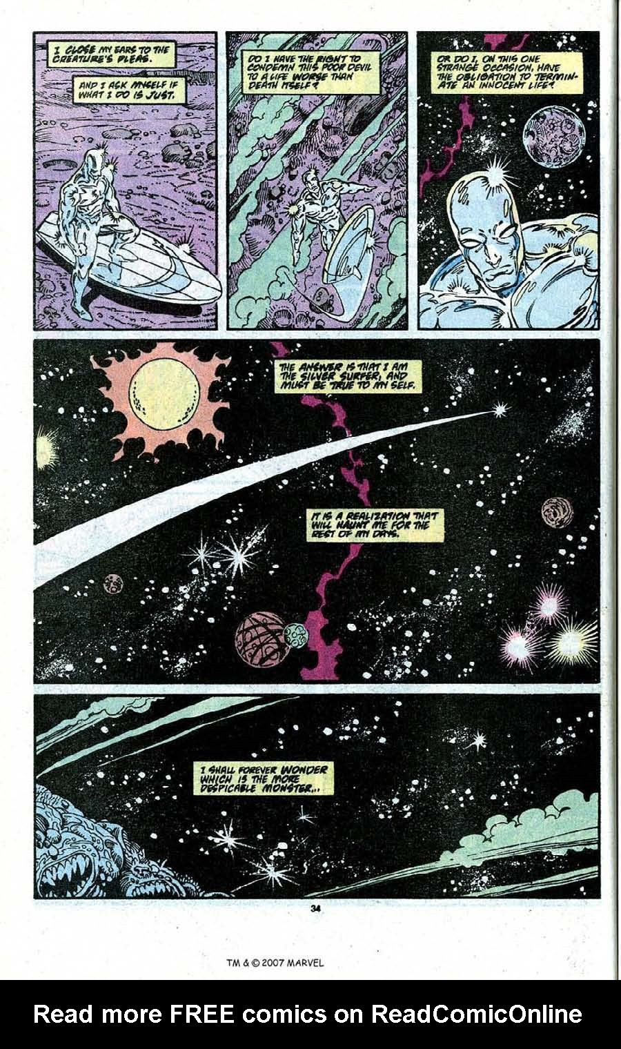 Read online Silver Surfer (1987) comic -  Issue # _Annual 3 - 36