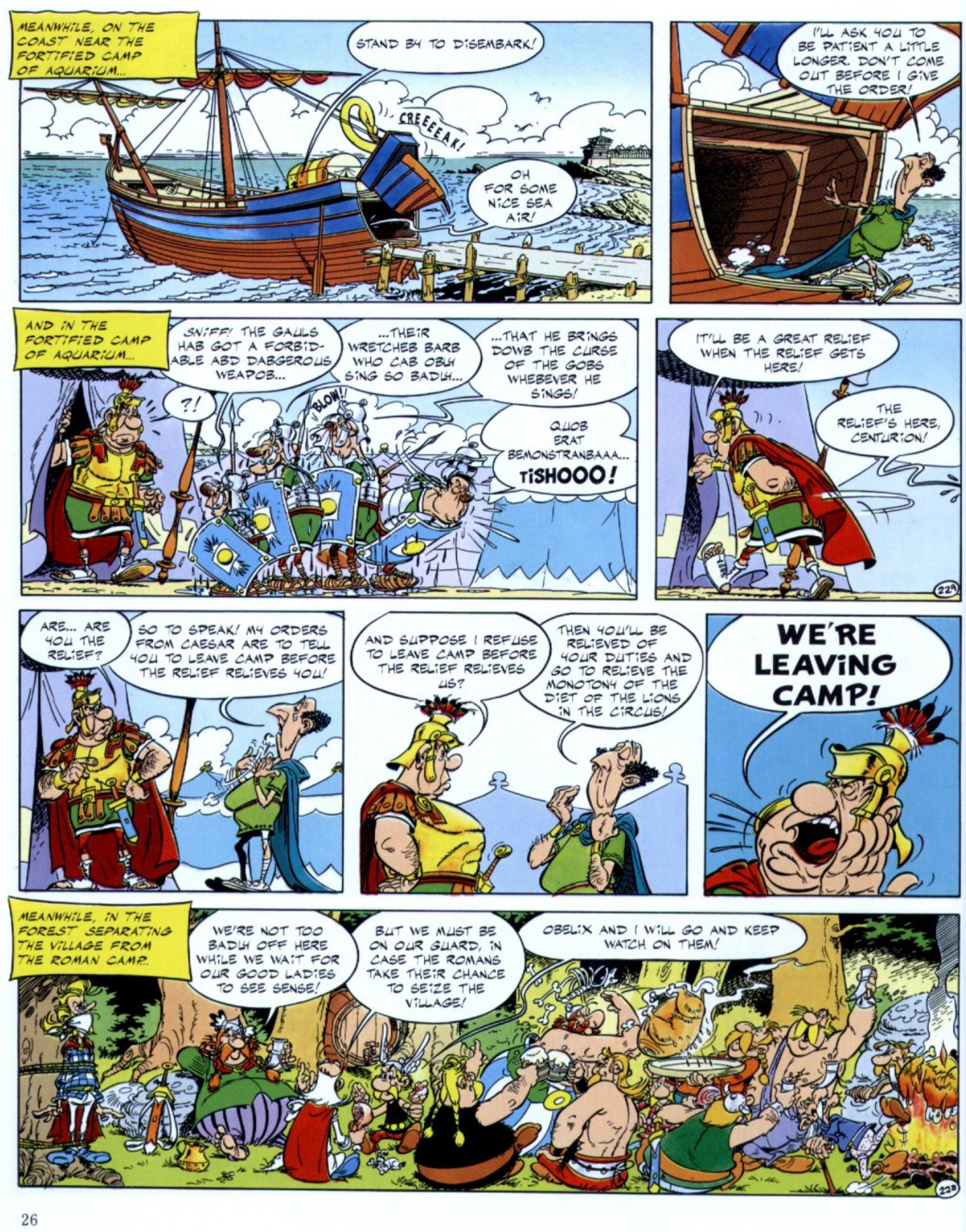 Read online Asterix comic -  Issue #29 - 24