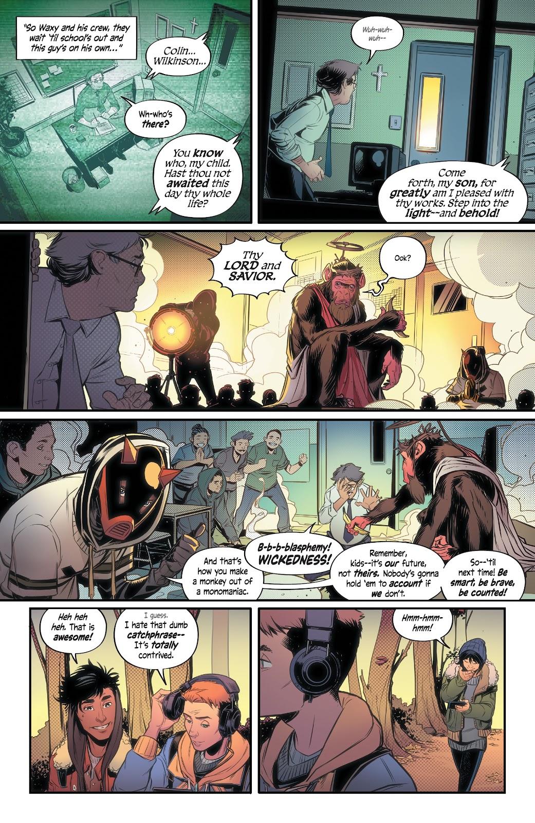Read online Alienated comic -  Issue #1 - 10