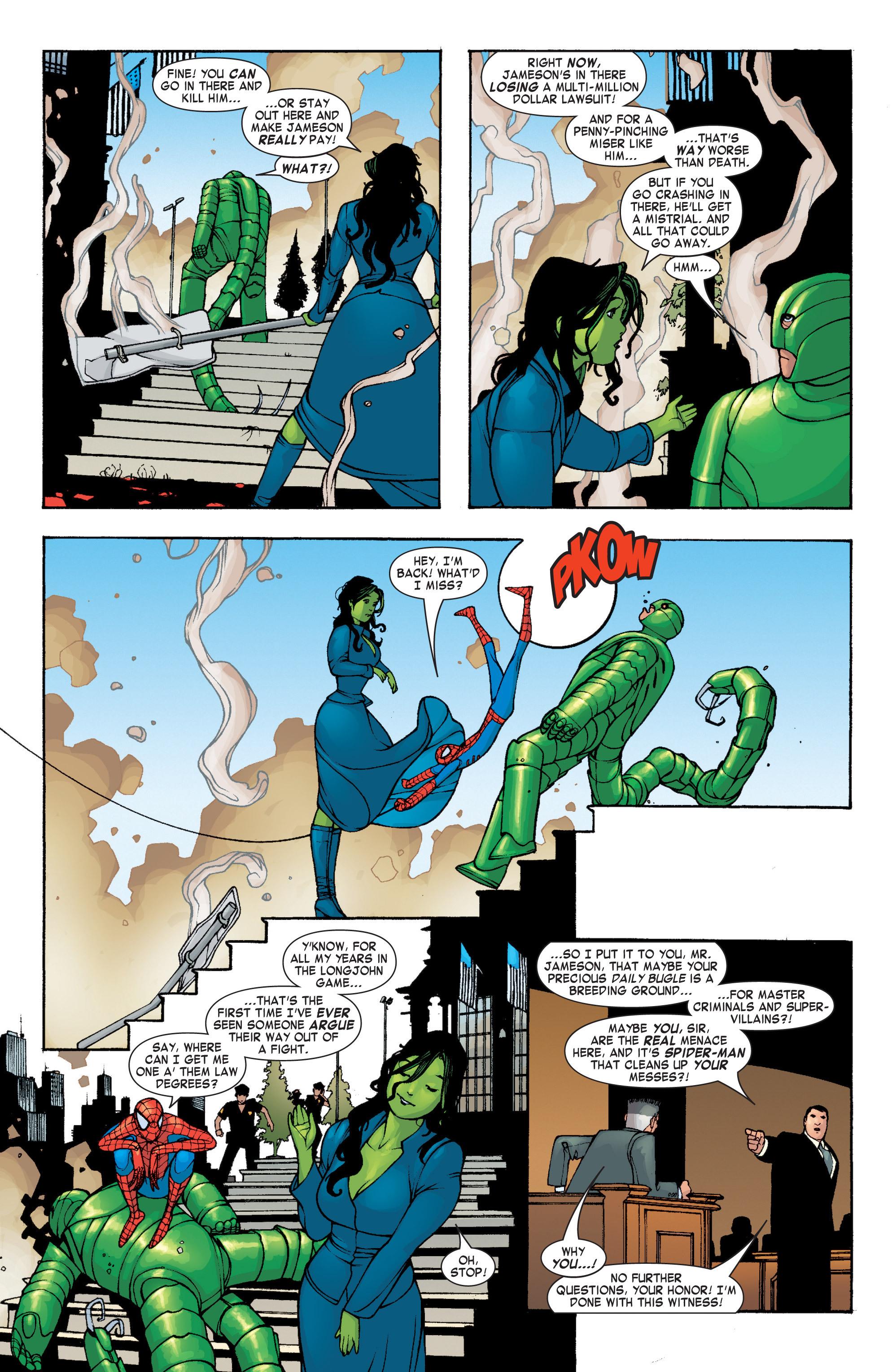 Read online She-Hulk (2004) comic -  Issue #4 - 19