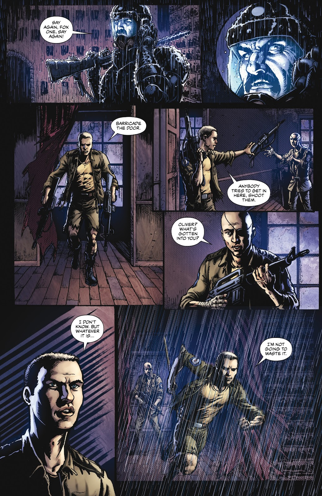Read online Oliver comic -  Issue #3 - 14