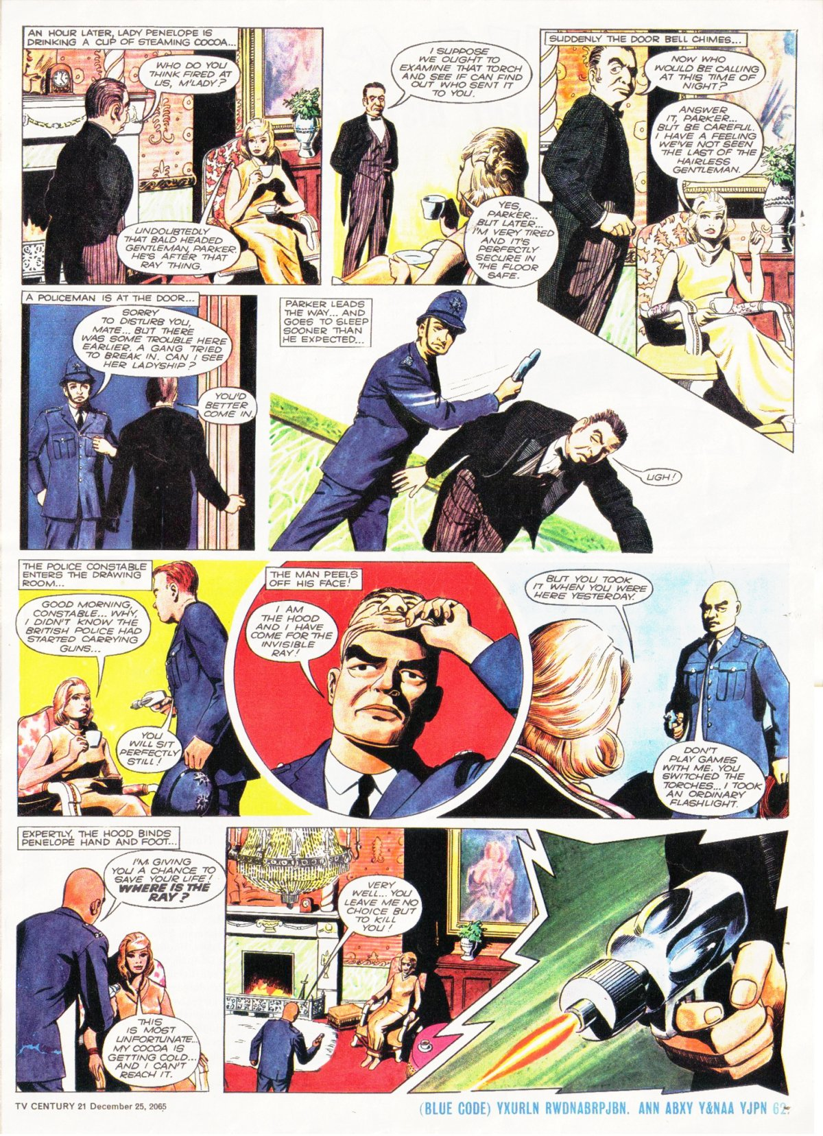 Read online TV Century 21 (TV 21) comic -  Issue #49 - 16