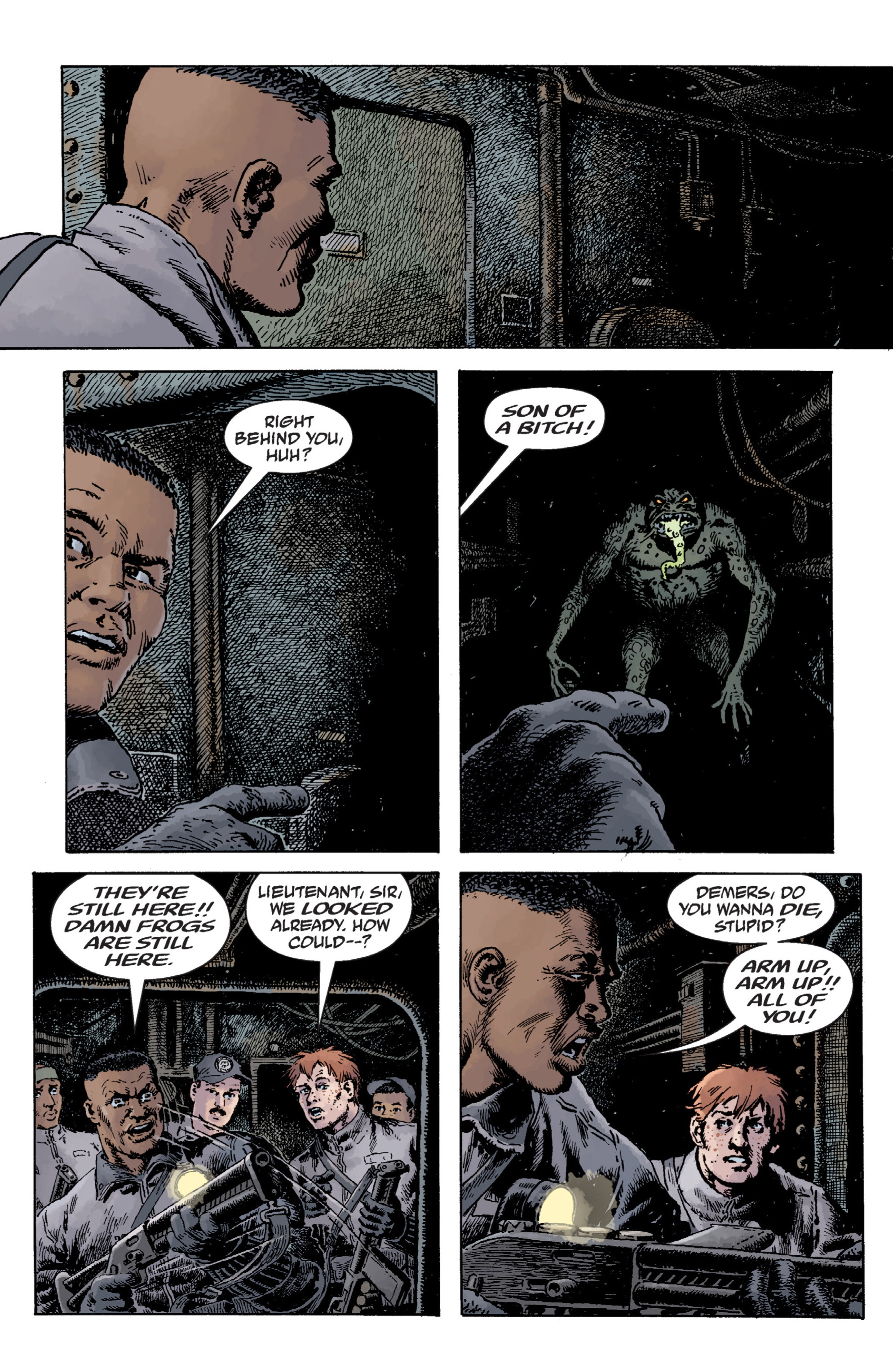 Read online B.P.R.D. (2003) comic -  Issue # TPB 12 - 67