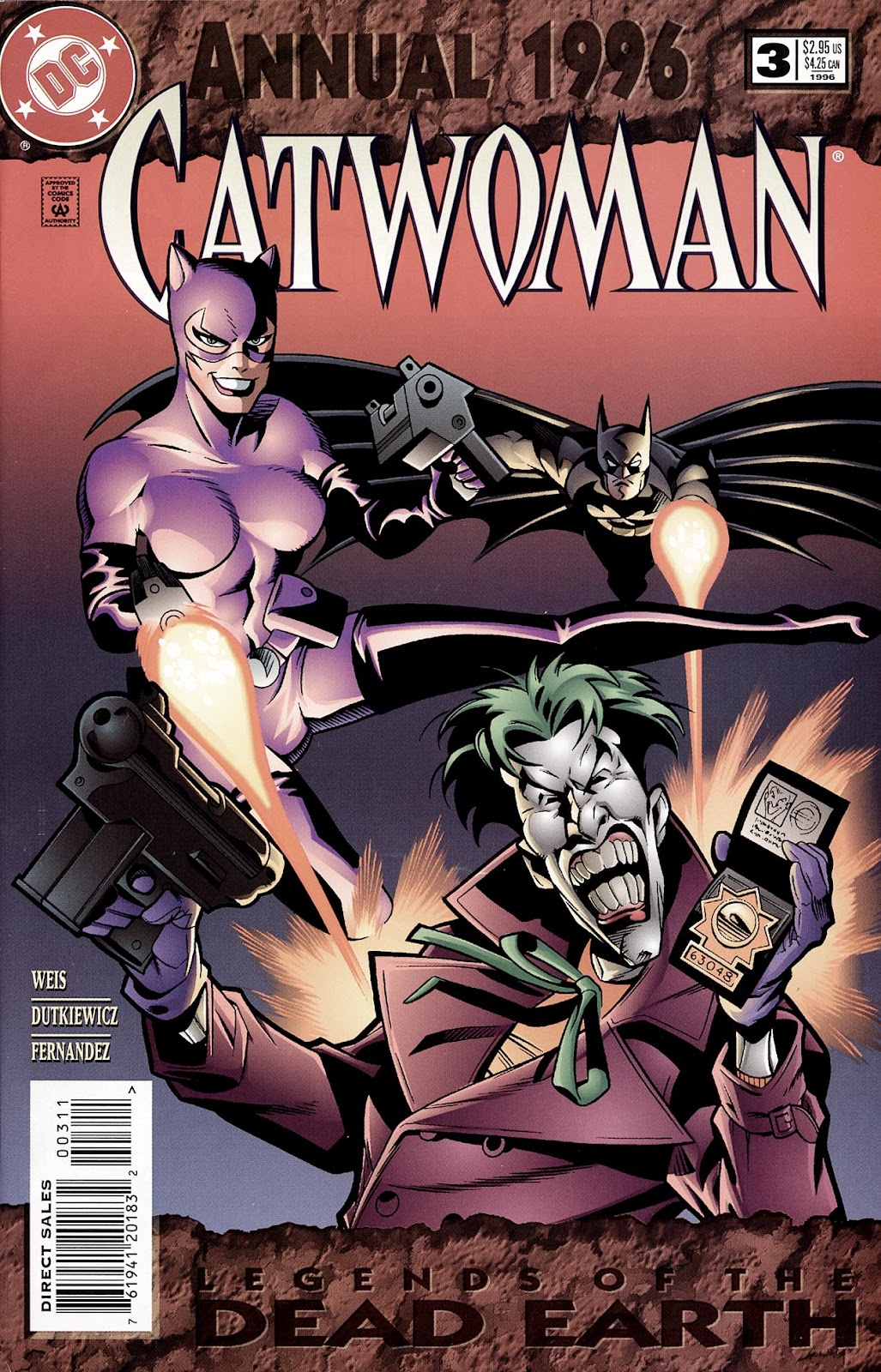 Catwoman (1993) Annual 3 #3 - English 1