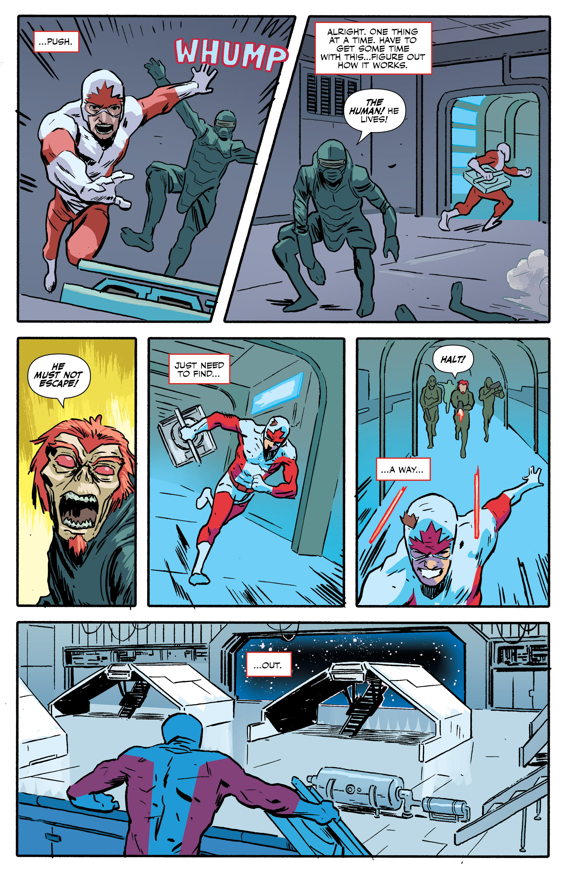 Read online All-New Classic Captain Canuck comic -  Issue #0 - 45